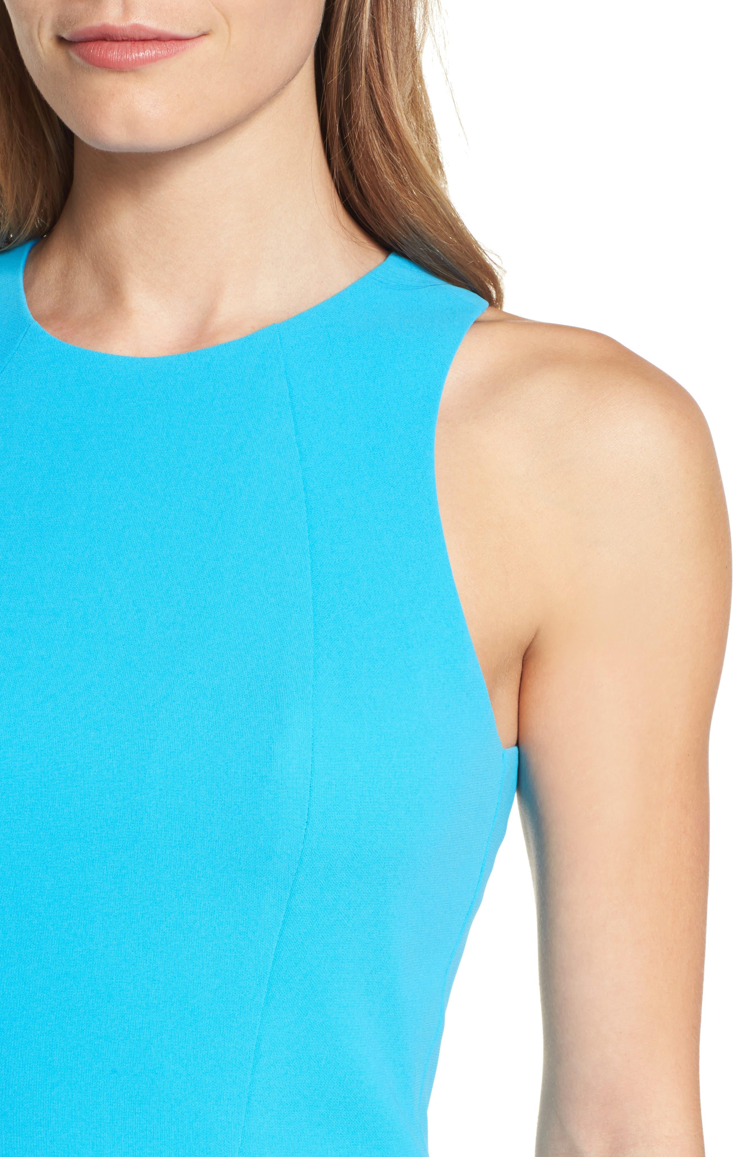 Athena Fit & Flare Dress,                             Alternate thumbnail 15, color,