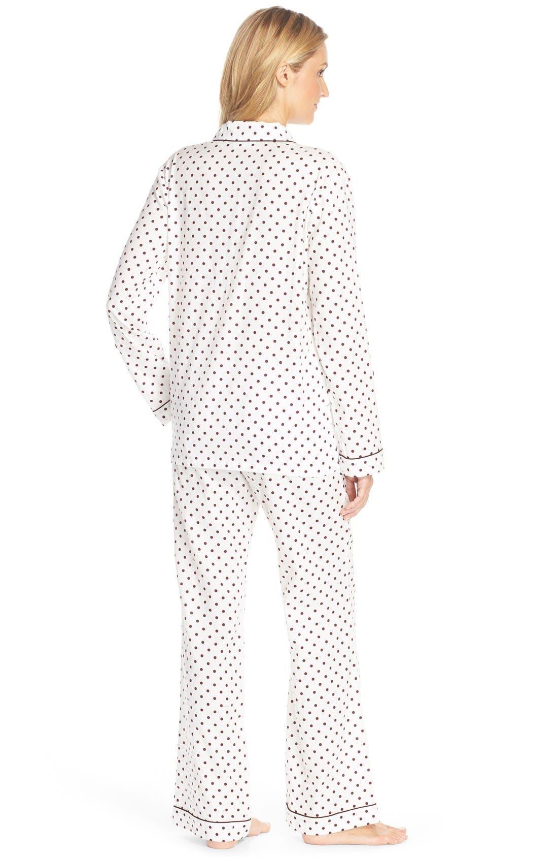 Cotton Twill Pajamas,                             Alternate thumbnail 30, color,