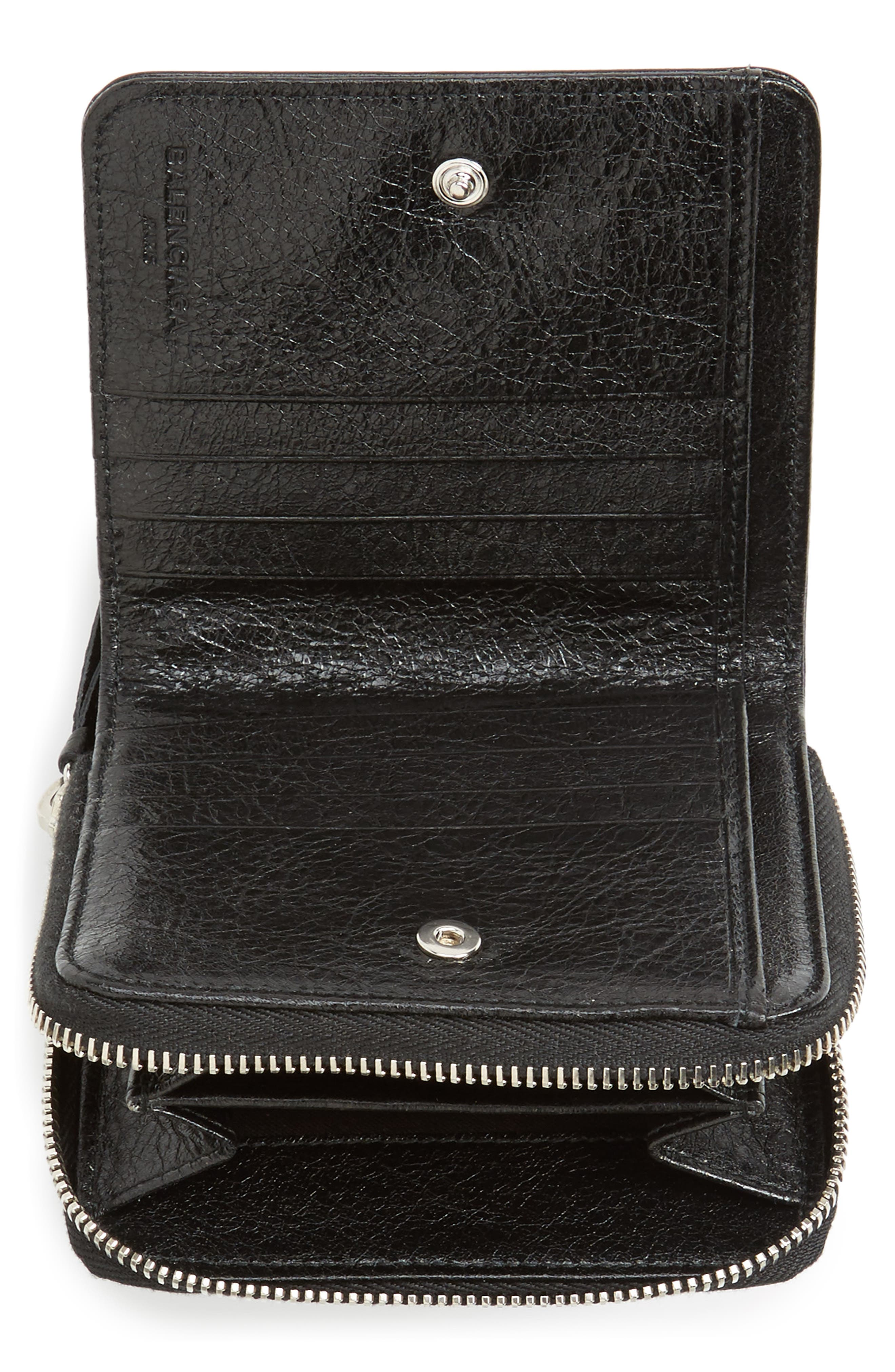 Classic Leather Billfold,                             Alternate thumbnail 2, color,                             1000 NOIR