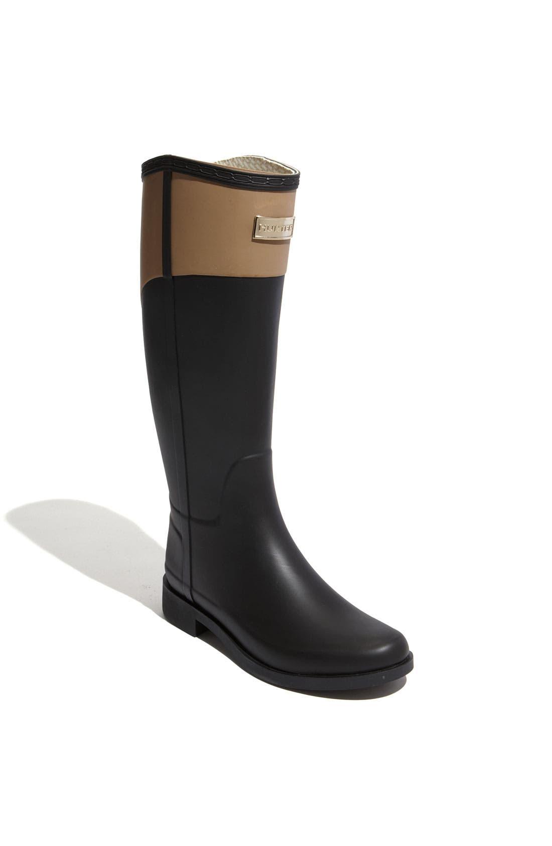 'Cece' Rain Boot,                         Main,                         color, 001