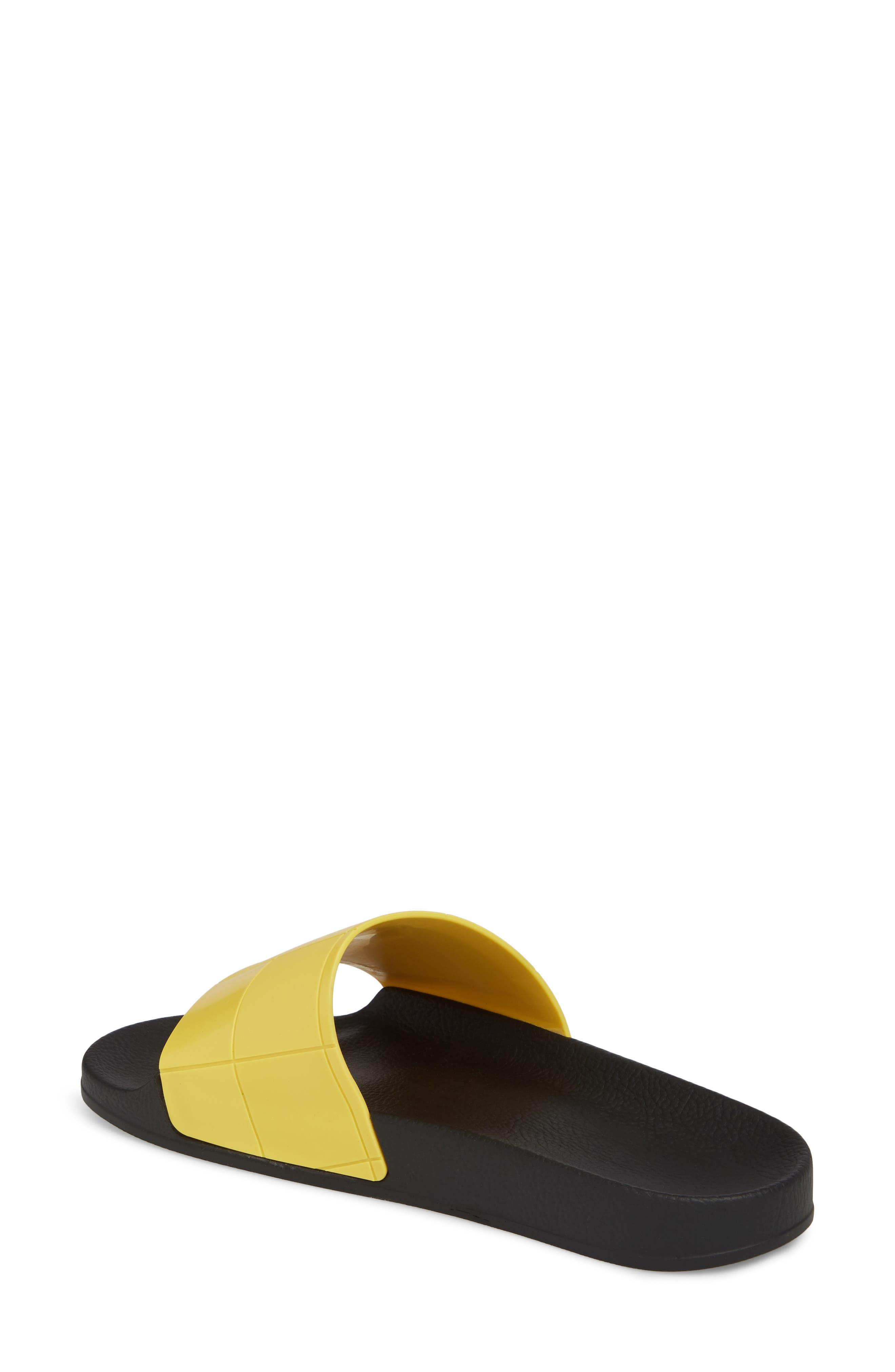 adidas by Raf Simons Adilette Slide Sandal,                             Alternate thumbnail 4, color,