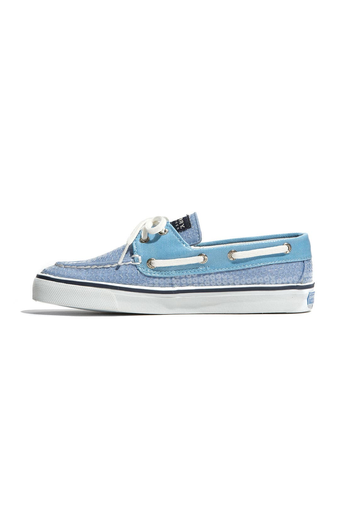 Top-Sider<sup>®</sup> 'Bahama' Sequined Boat Shoe,                             Alternate thumbnail 64, color,