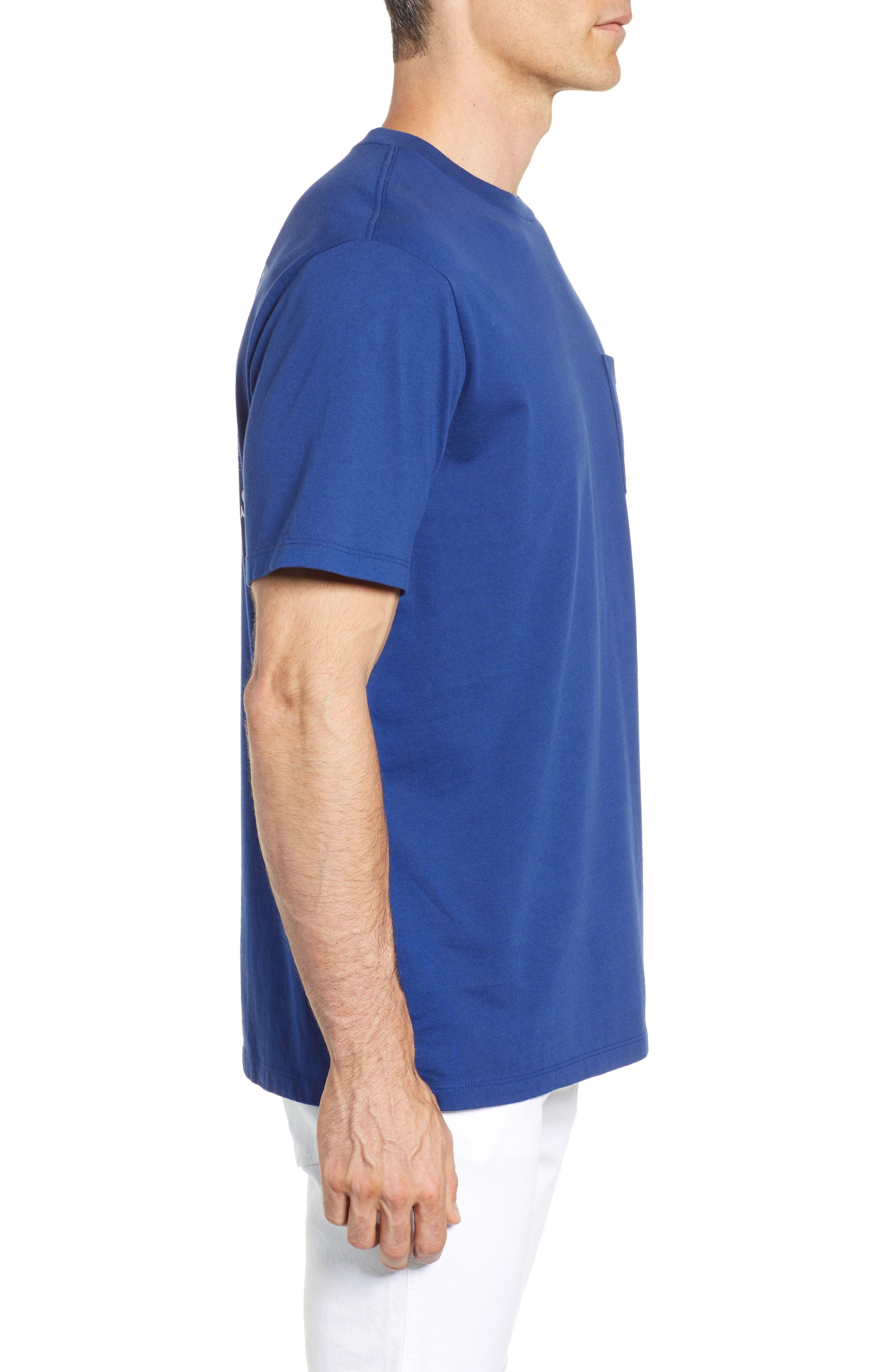 U.S. Tradition Pocket T-Shirt,                             Alternate thumbnail 3, color,                             400