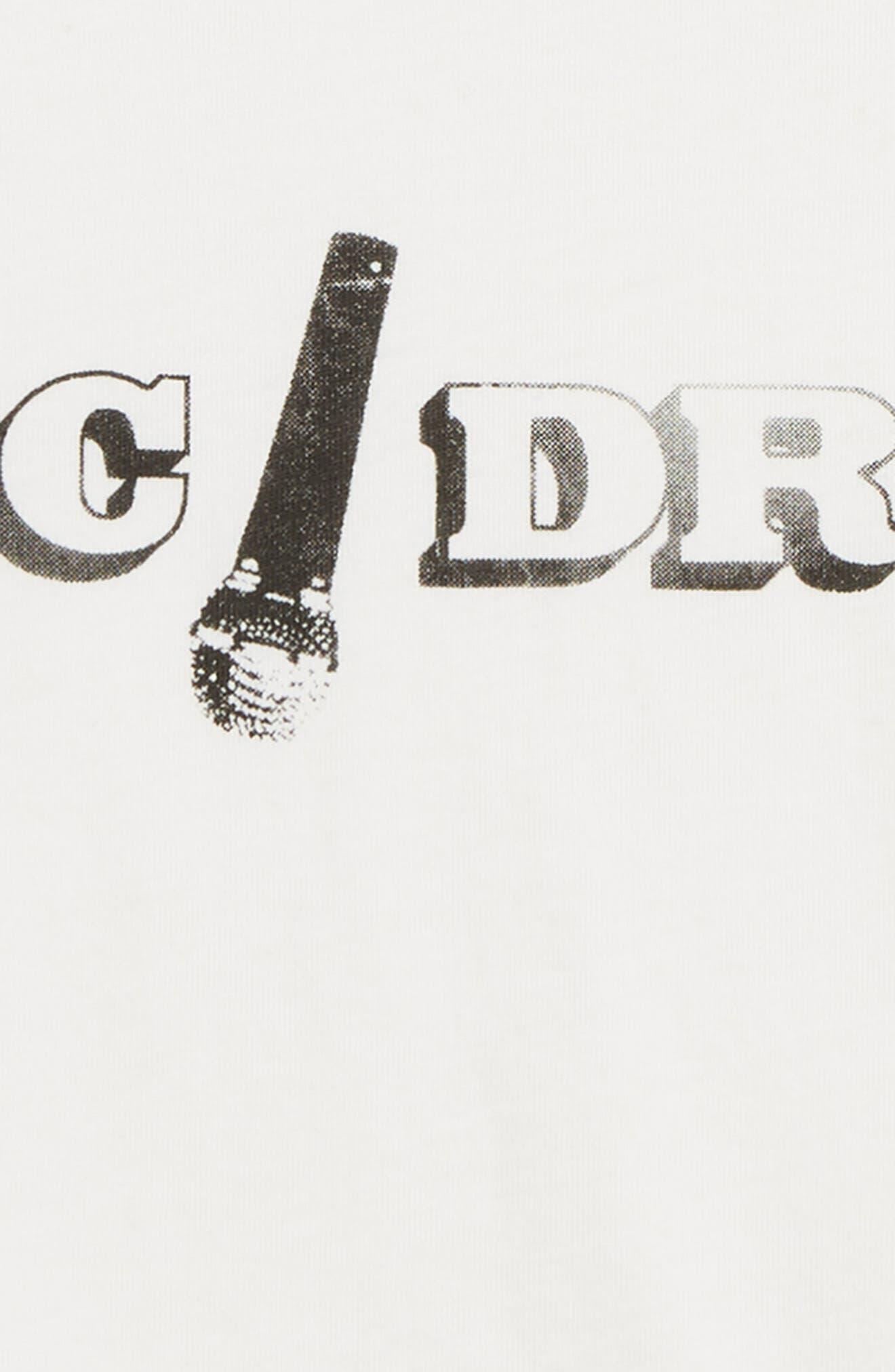 Mic Drop T-Shirt,                             Alternate thumbnail 2, color,                             IVORY