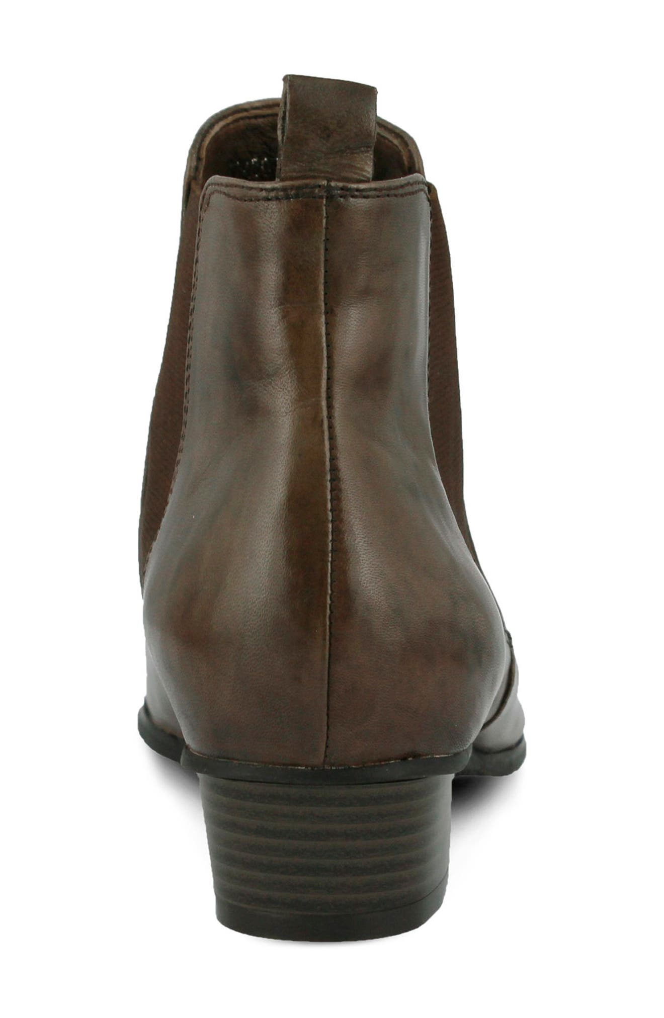 Lithium Chelsea Boot,                             Alternate thumbnail 6, color,                             TAUPE LEATHER