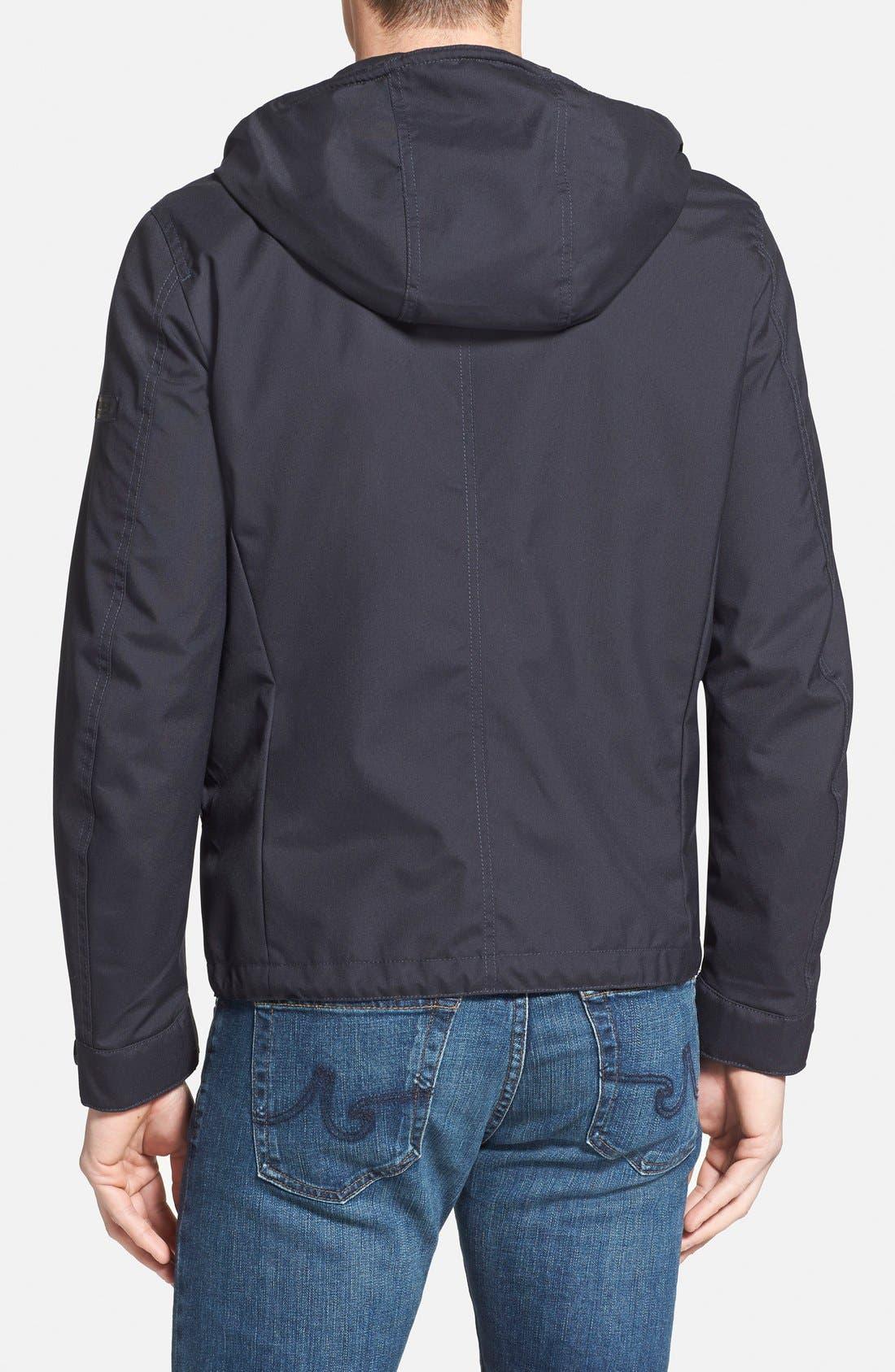 Woolrich 'Teton Rudder' Hooded Canvas Jacket,                             Alternate thumbnail 4, color,                             410