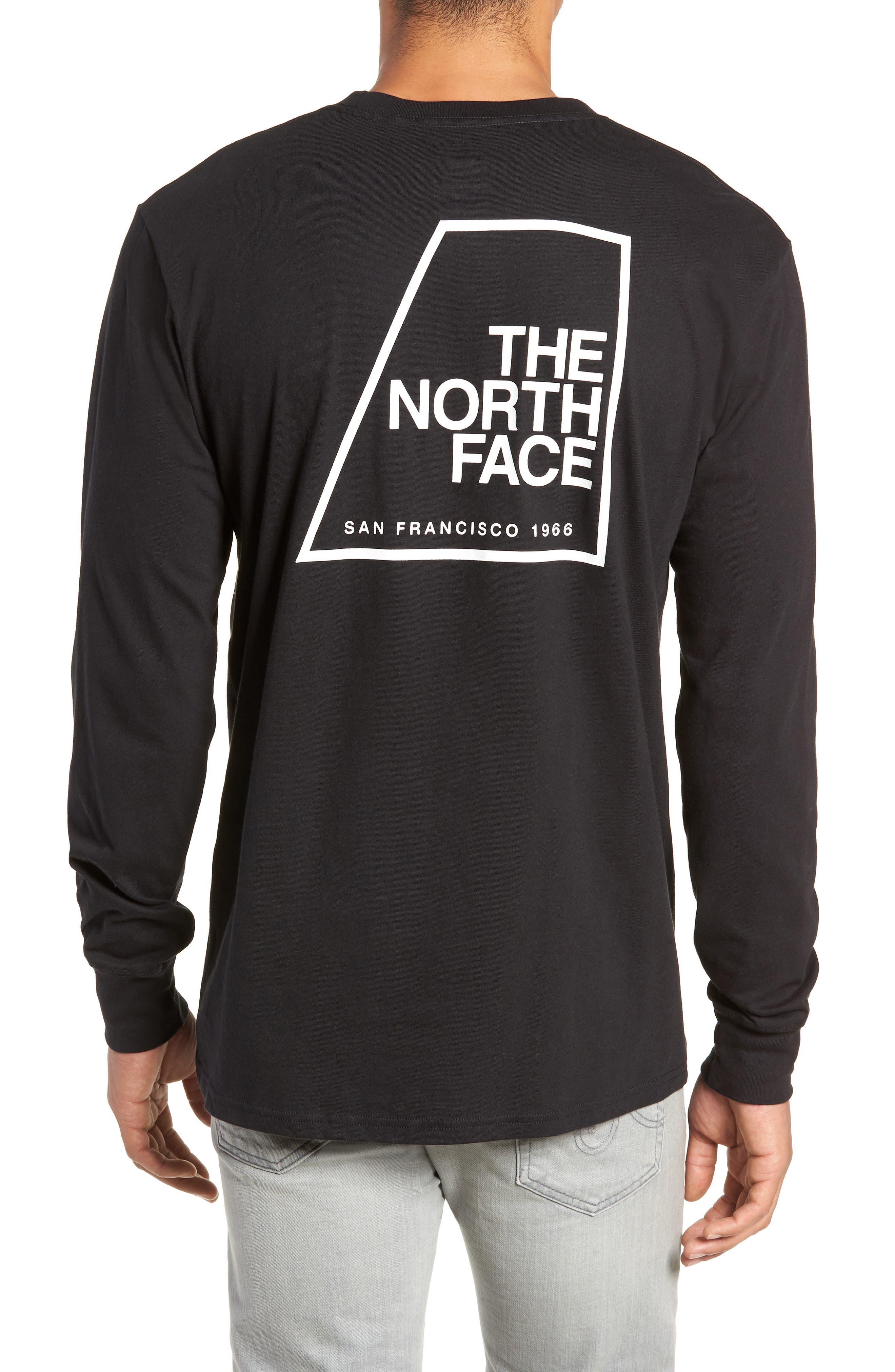 Graphic Patch T-Shirt,                             Alternate thumbnail 2, color,                             TNF BLACK