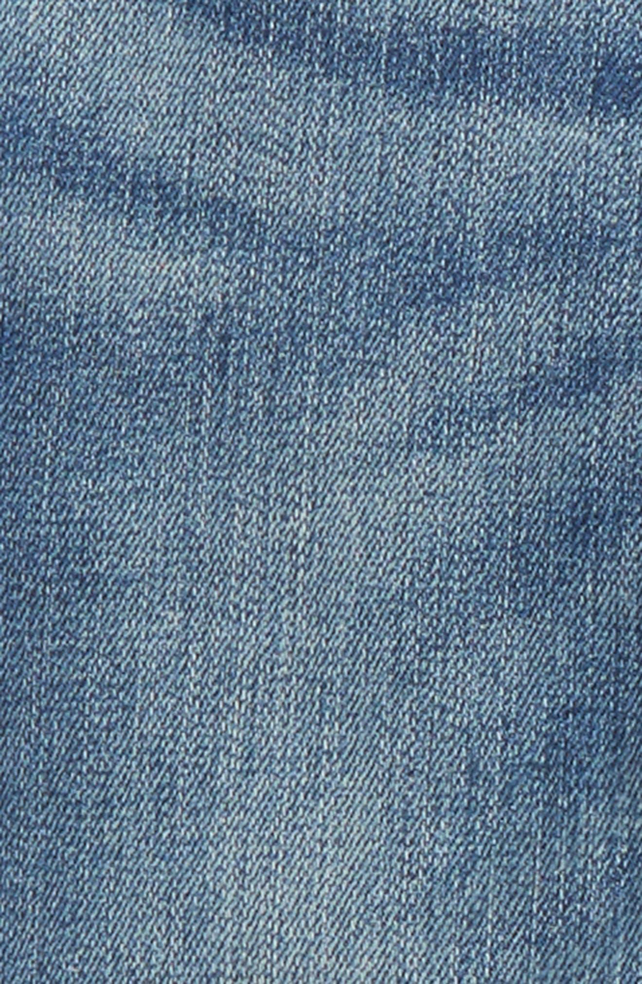 Skinny Jeans,                             Alternate thumbnail 3, color,                             MID INDIGO