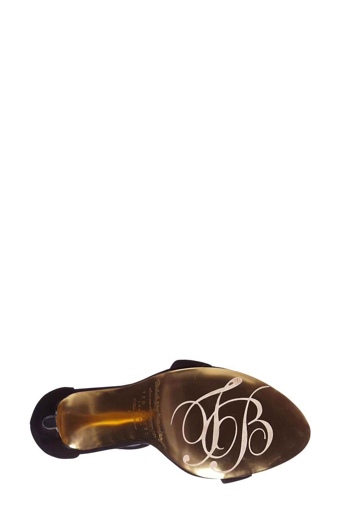 'Juliennas' Leather Sandal,                             Alternate thumbnail 2, color,                             010