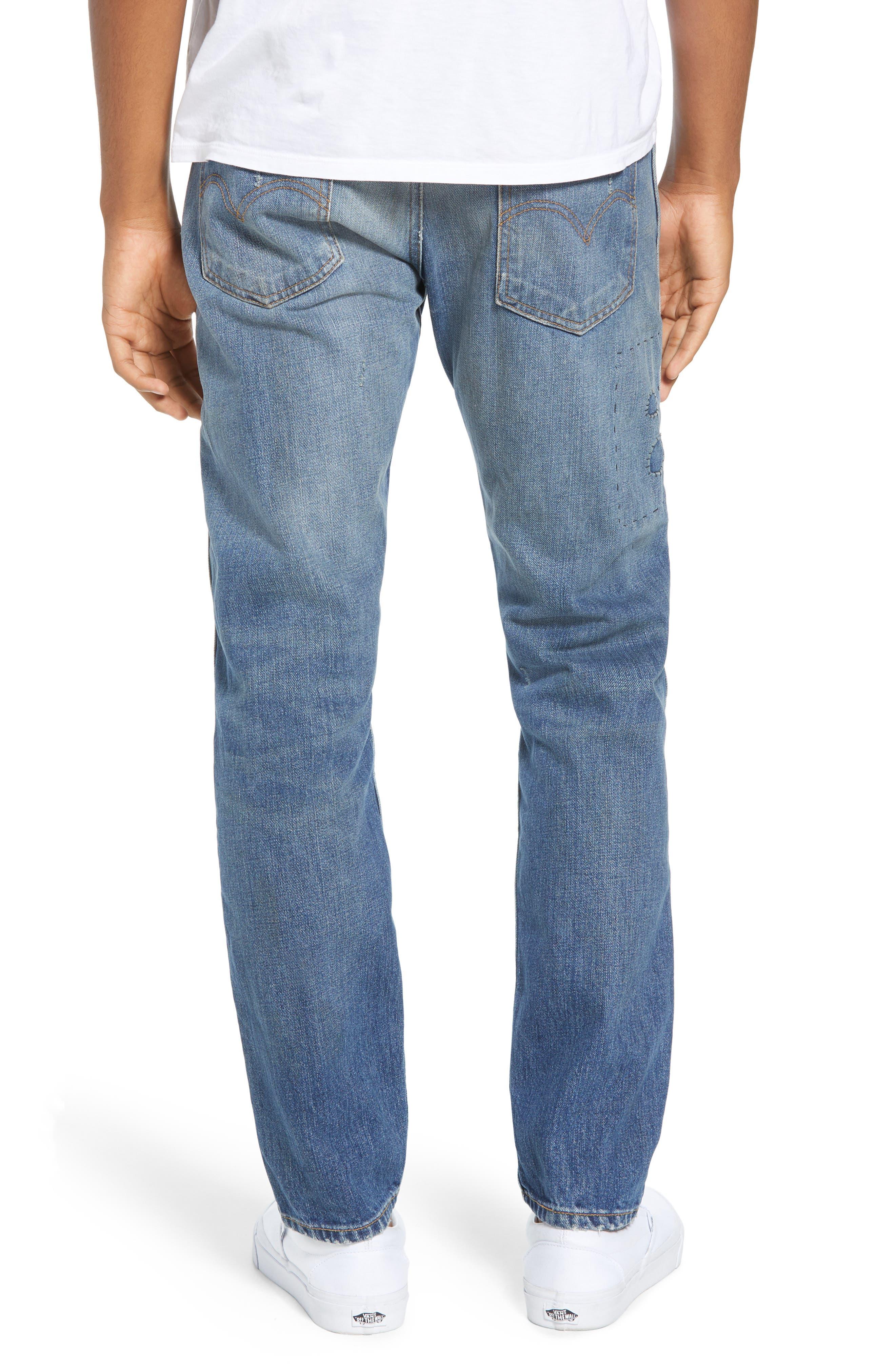 1969 606<sup>™</sup> Slim Fit Jeans,                             Alternate thumbnail 2, color,                             401