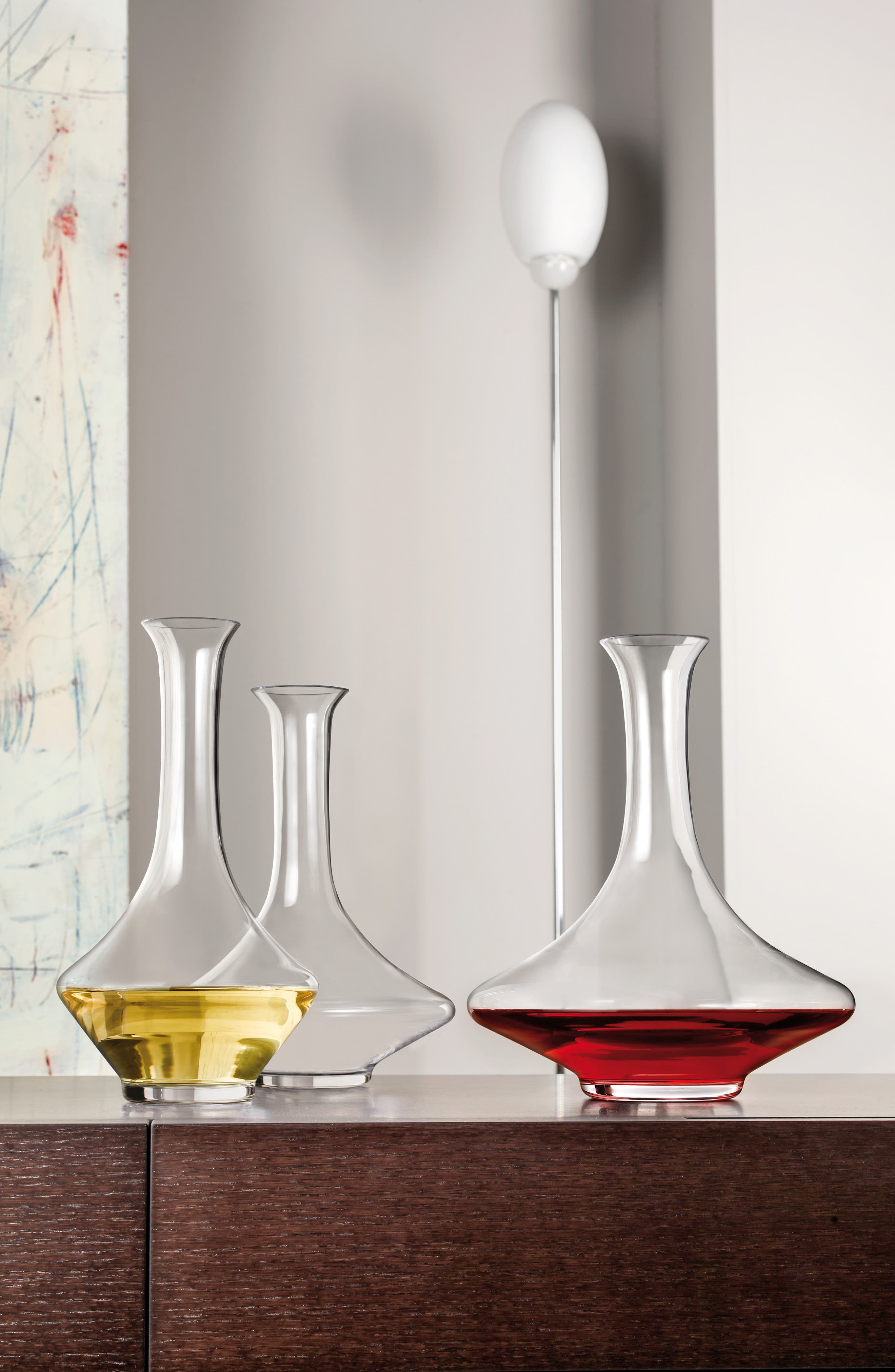Red Wine Decanter,                             Alternate thumbnail 3, color,
