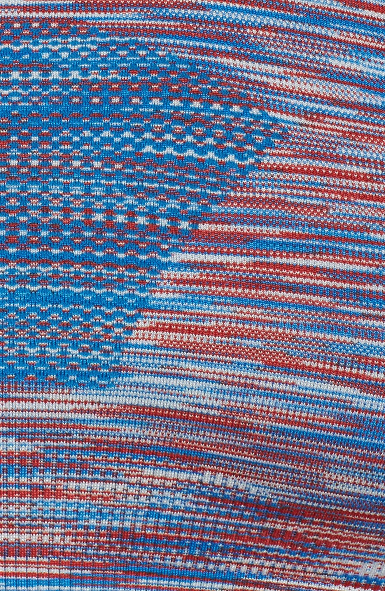 Seamless Space Dye Bra,                             Alternate thumbnail 6, color,
