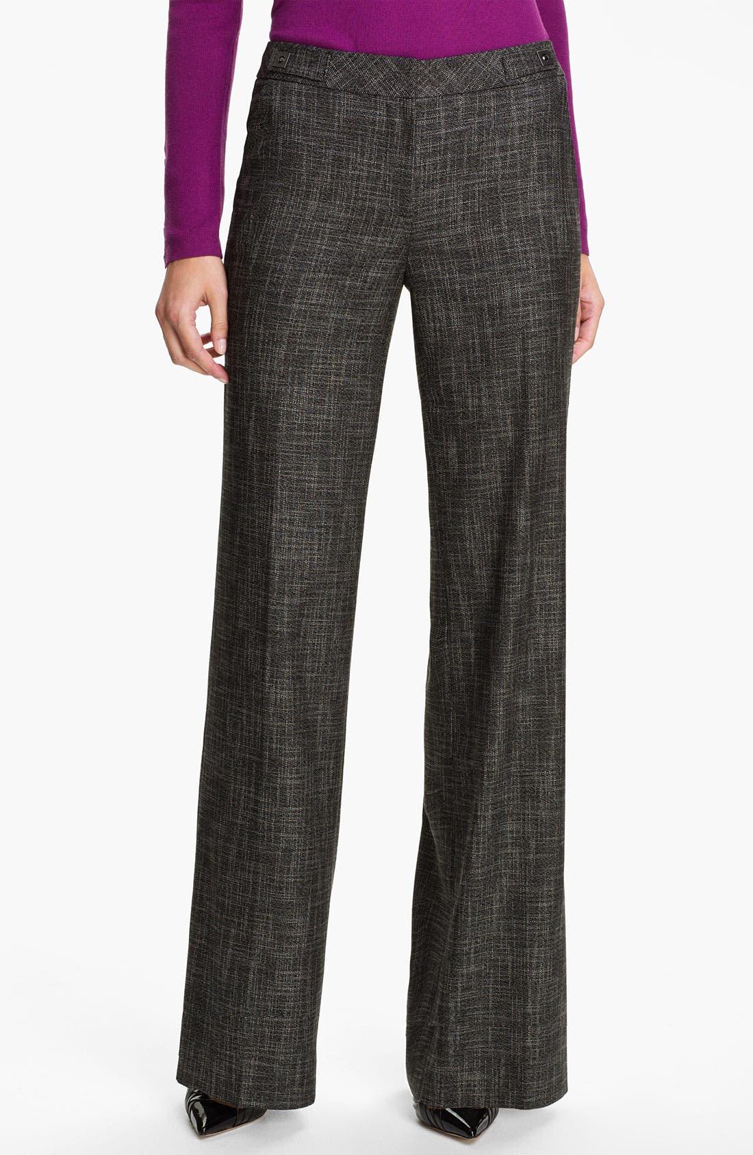 'Mystero Weave' Pants, Main, color, 001