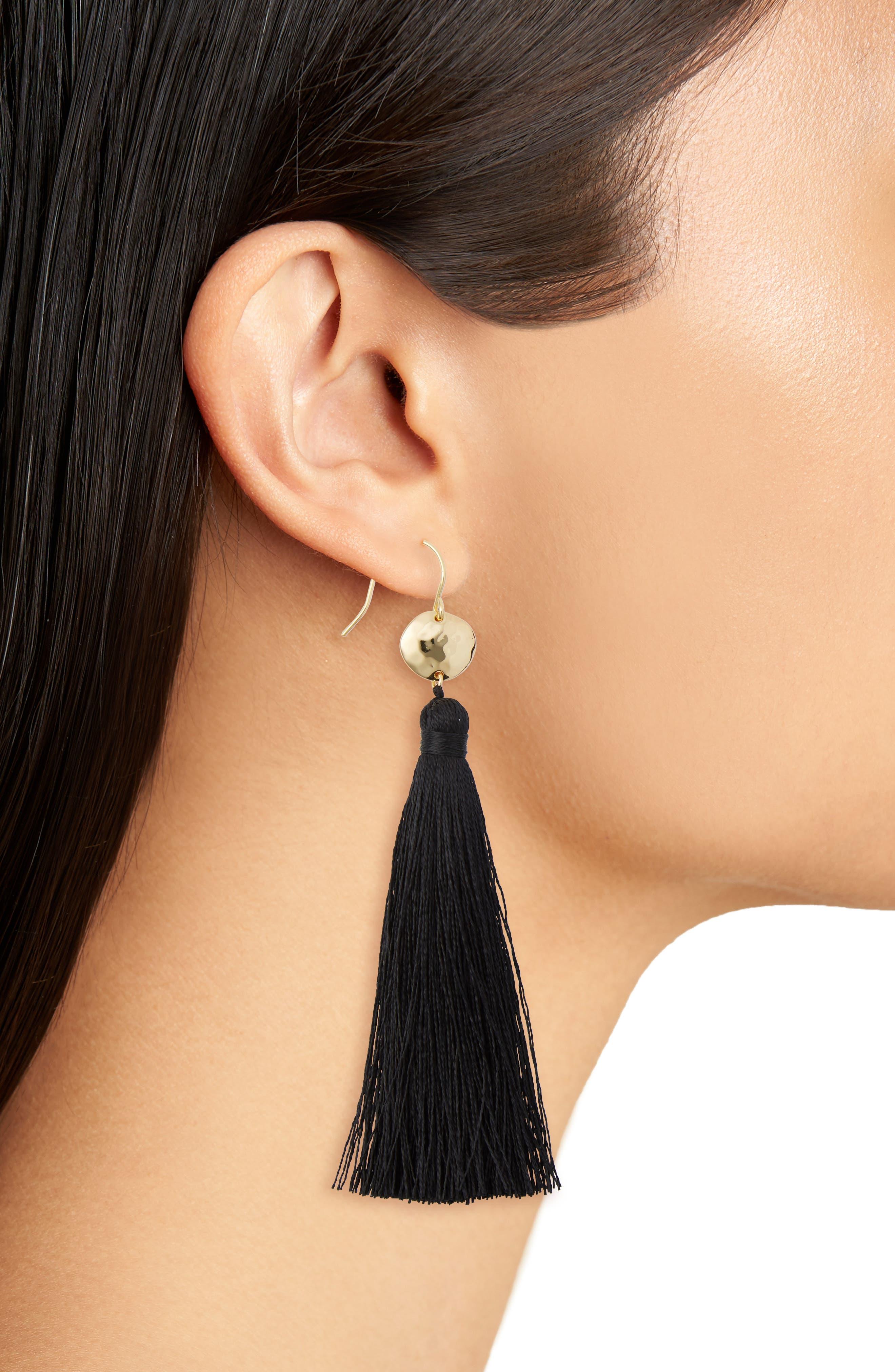 Leucadia Tassel Drop Earrings,                             Alternate thumbnail 2, color,                             005