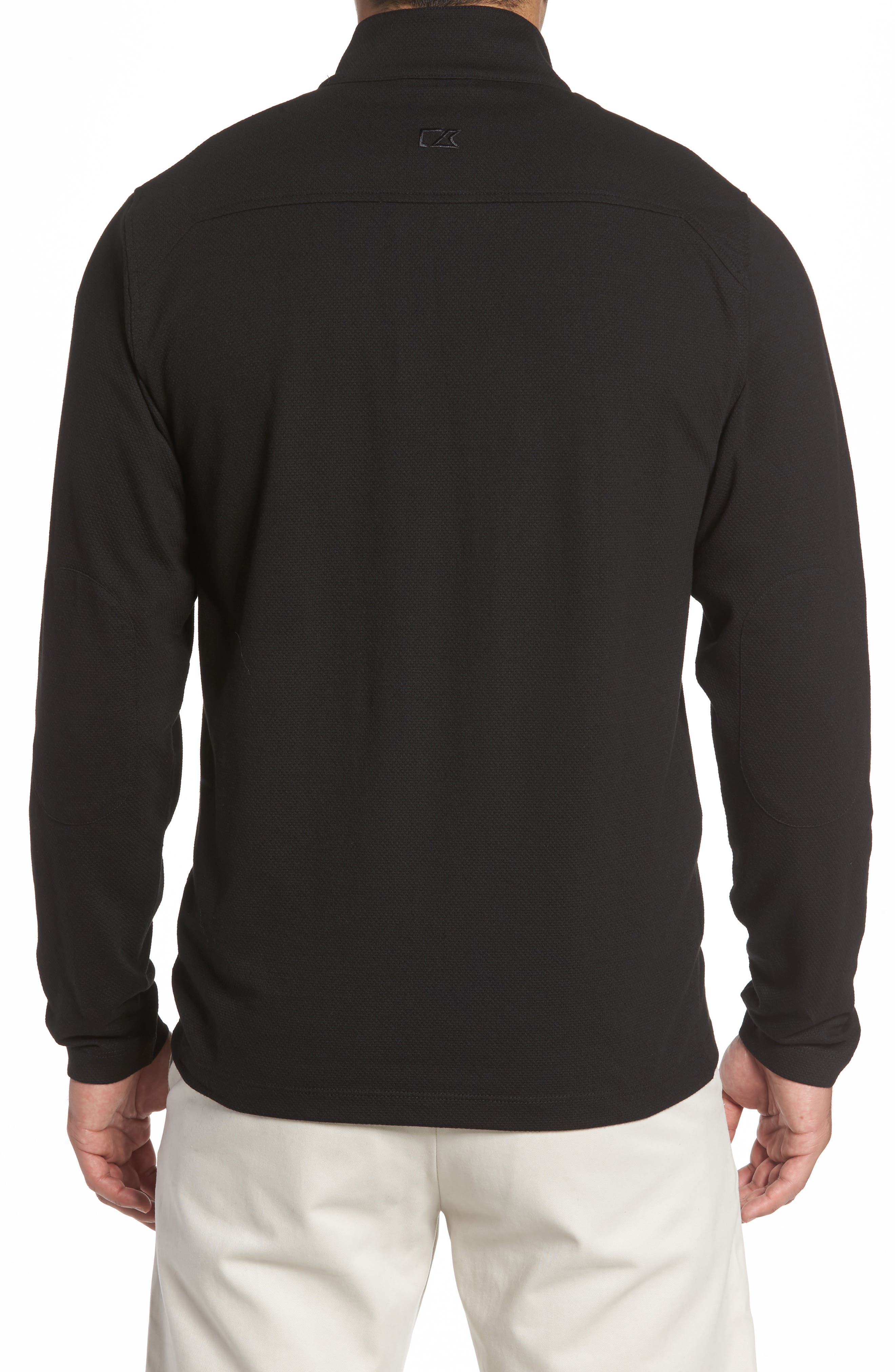 Hewitt Quarter Zip Pullover,                             Alternate thumbnail 2, color,                             001