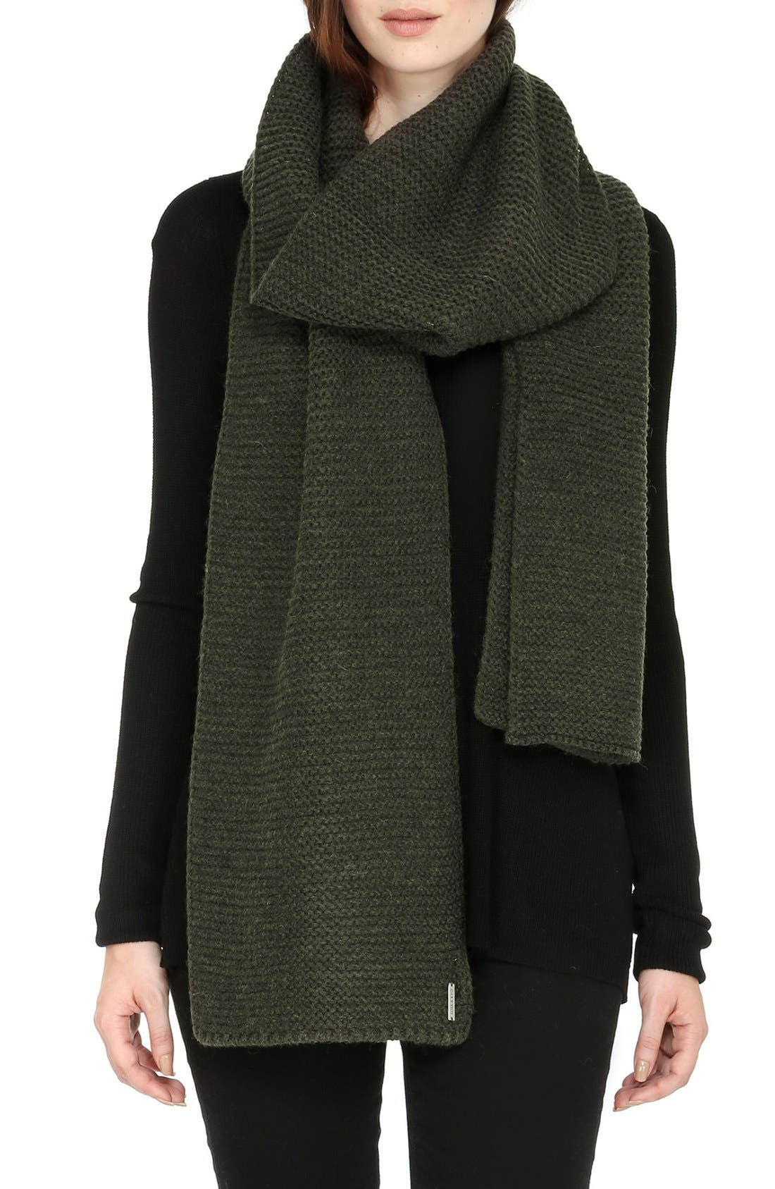 Extra Long Knit Scarf,                             Main thumbnail 5, color,