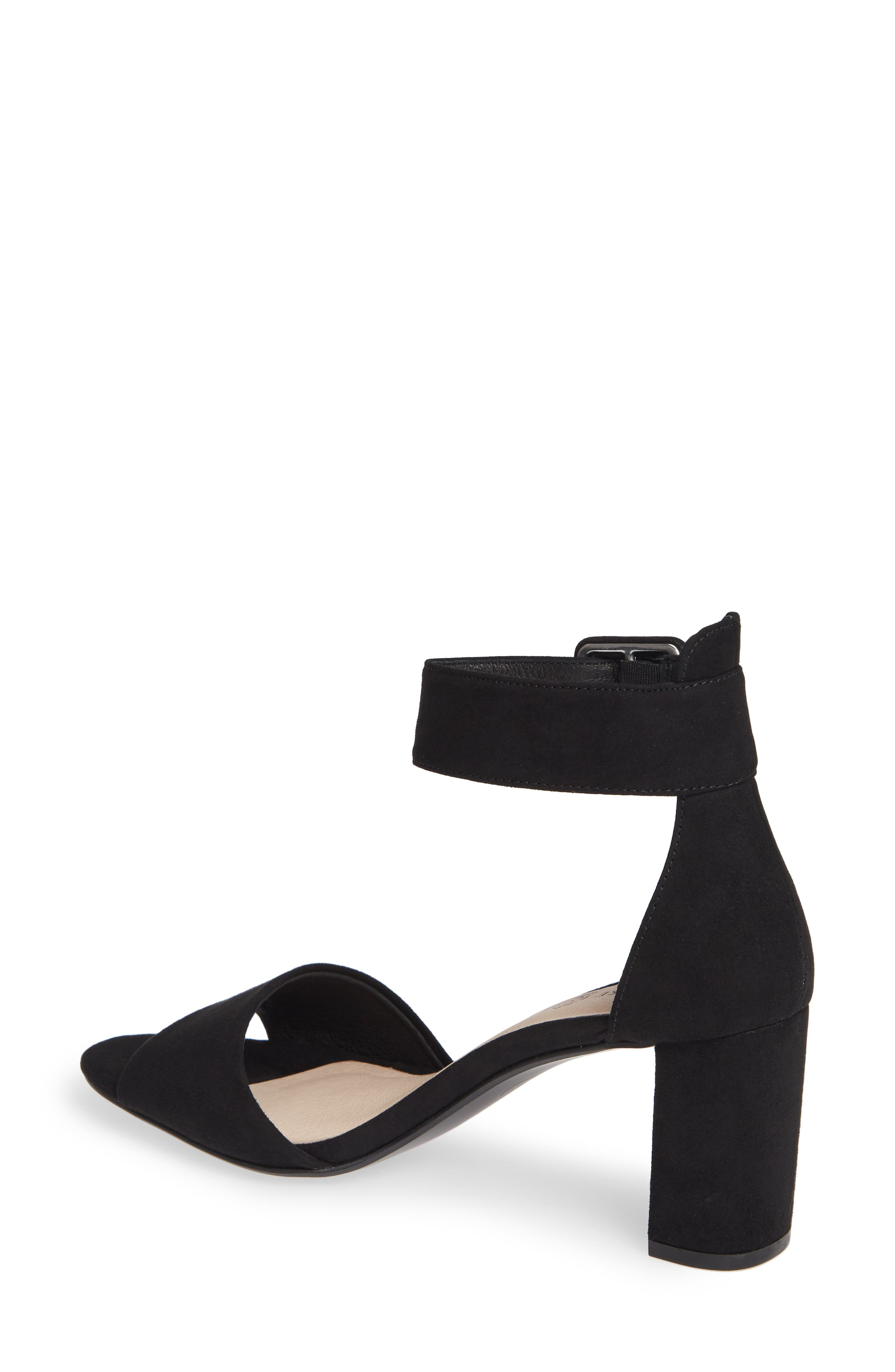 CHINESE LAUNDRY,                             Rumor Sandal,                             Alternate thumbnail 2, color,                             BLACK SUEDE
