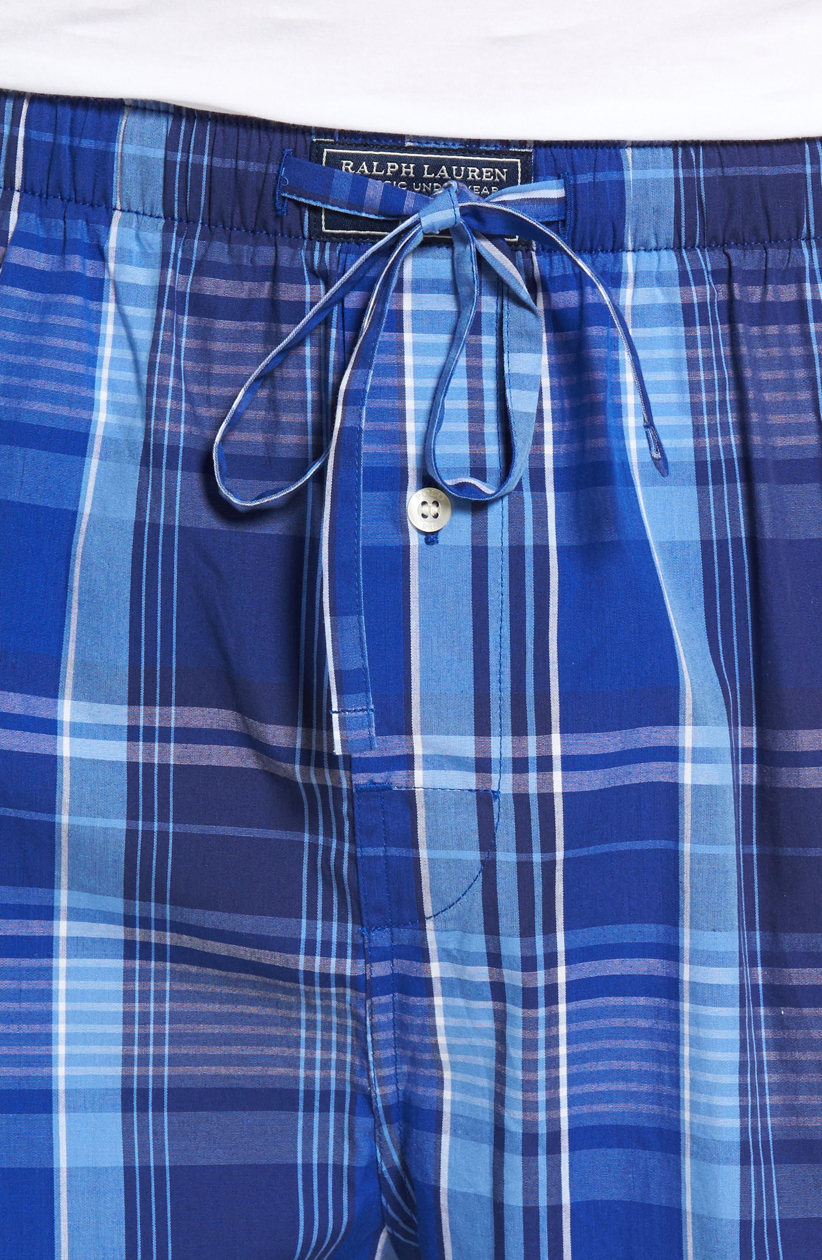Cotton Lounge Pants,                             Alternate thumbnail 4, color,                             406
