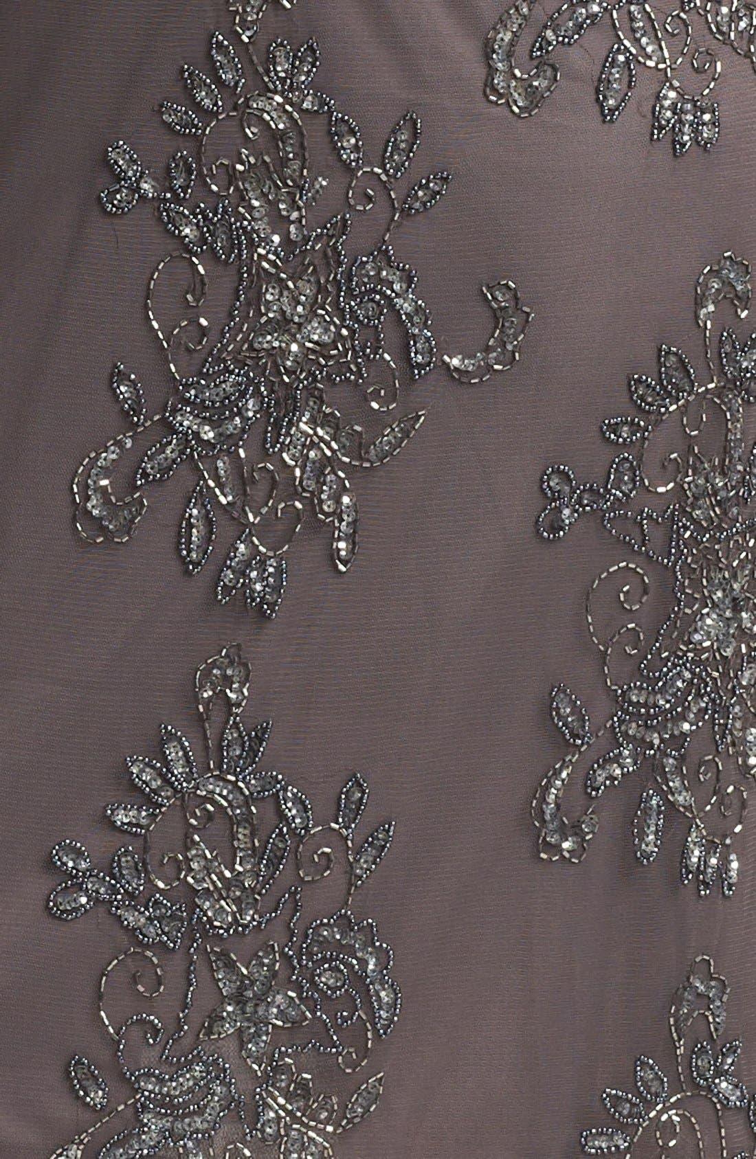 Embellished Tulle Dress,                             Alternate thumbnail 4, color,                             020