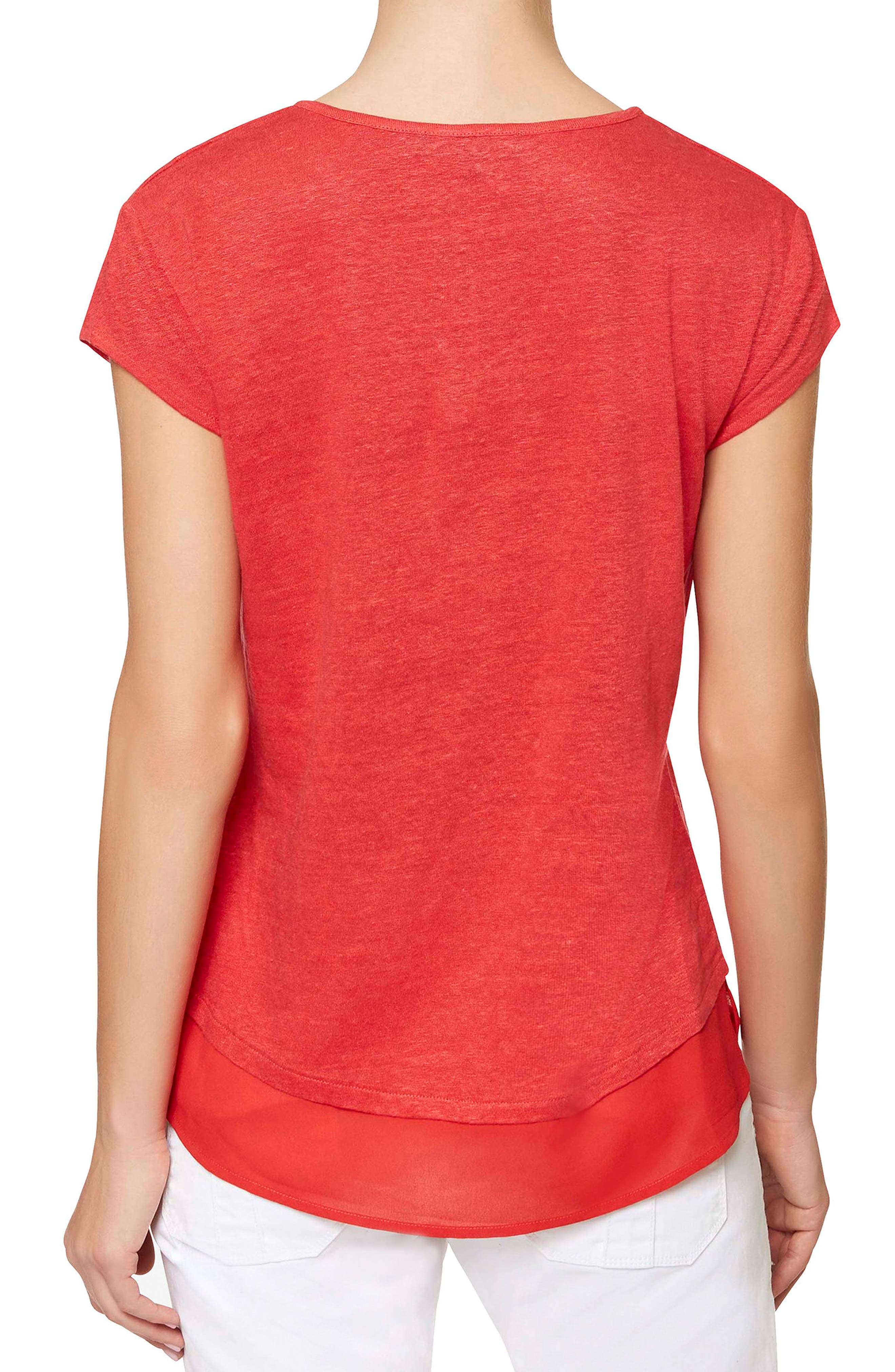 City Mix Layered Look Tee,                             Alternate thumbnail 46, color,