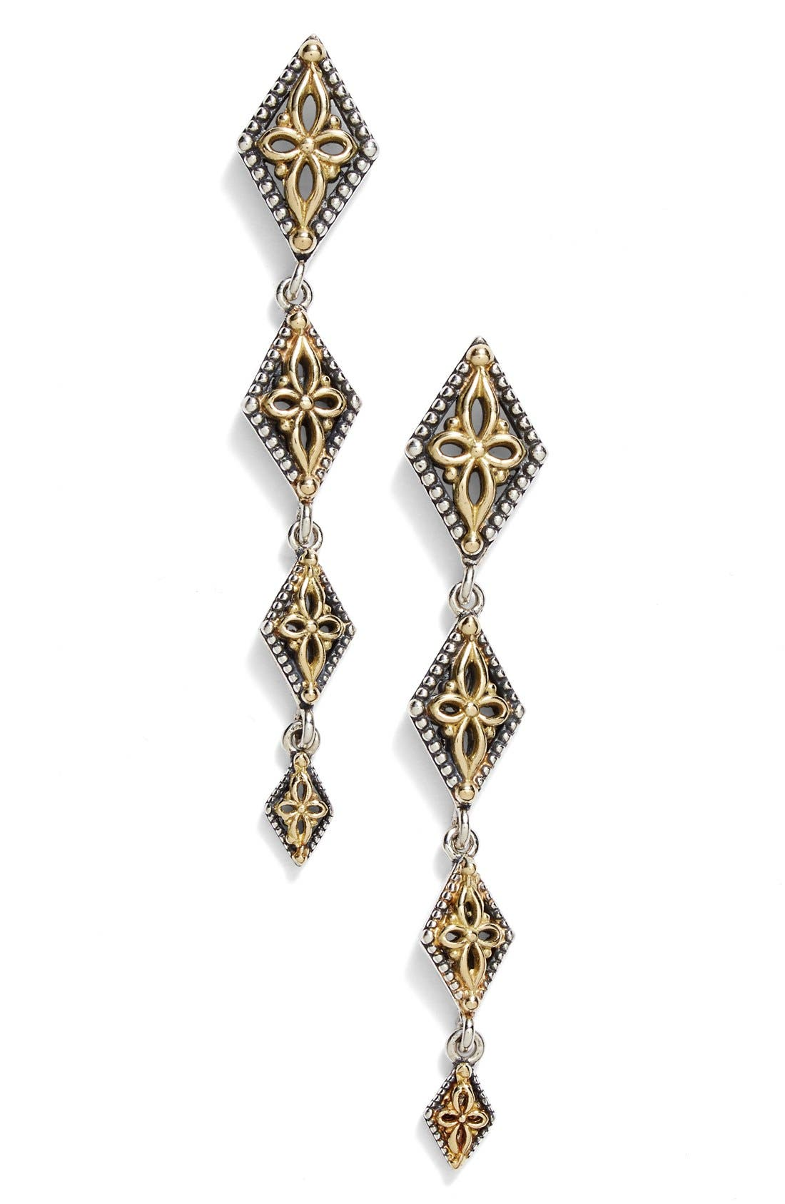 'Hebe' Etched Drop Earrings,                             Main thumbnail 1, color,