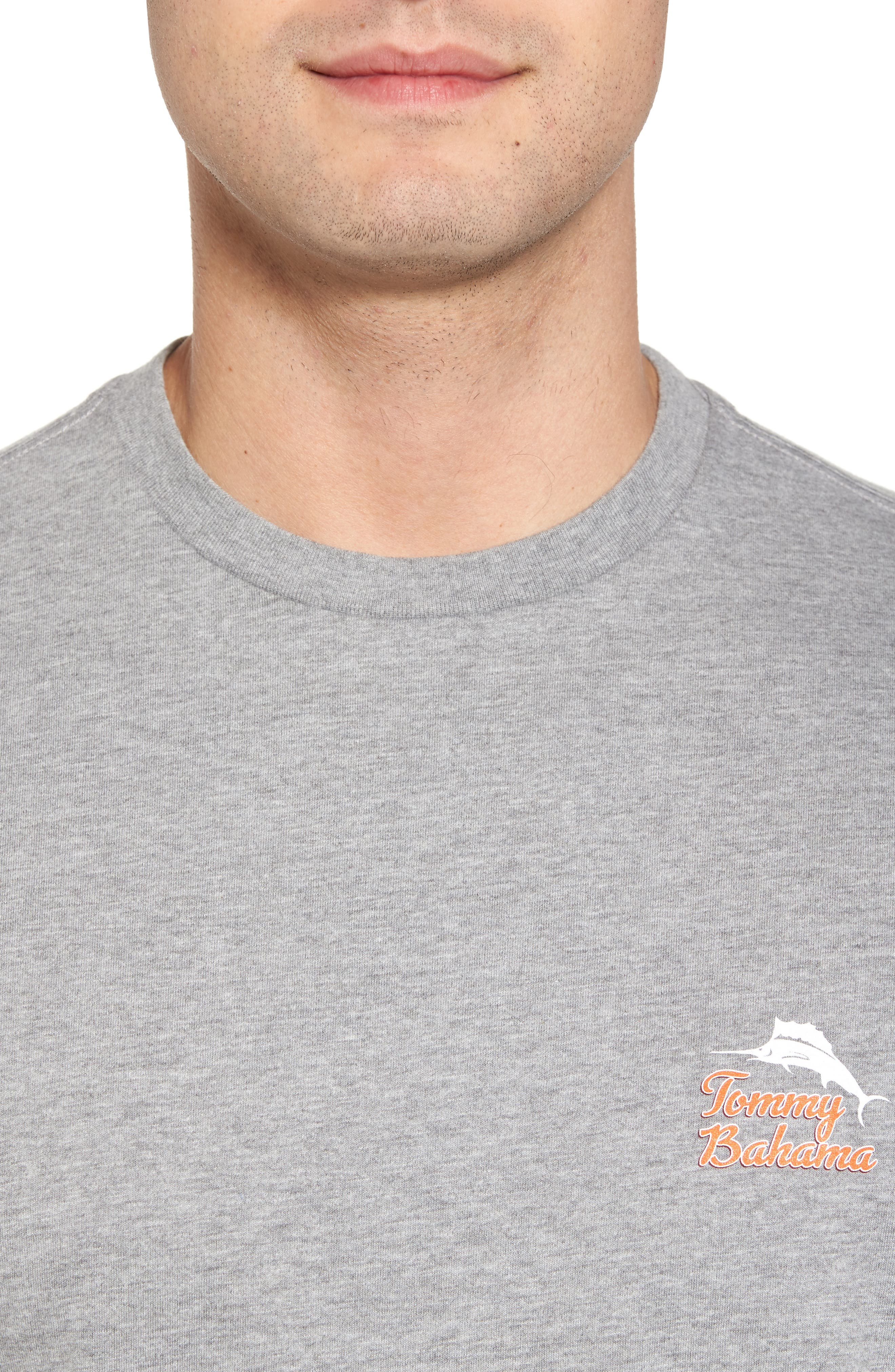 Morning Anchor Graphic T-Shirt,                             Alternate thumbnail 4, color,                             020