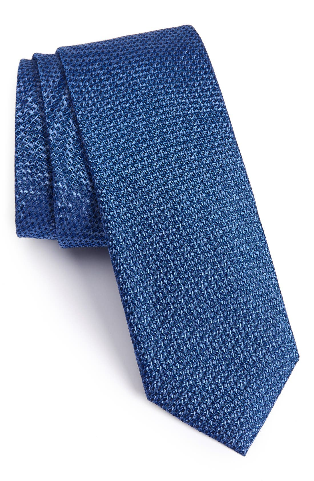 Seattle Textured Silk Tie,                             Alternate thumbnail 98, color,