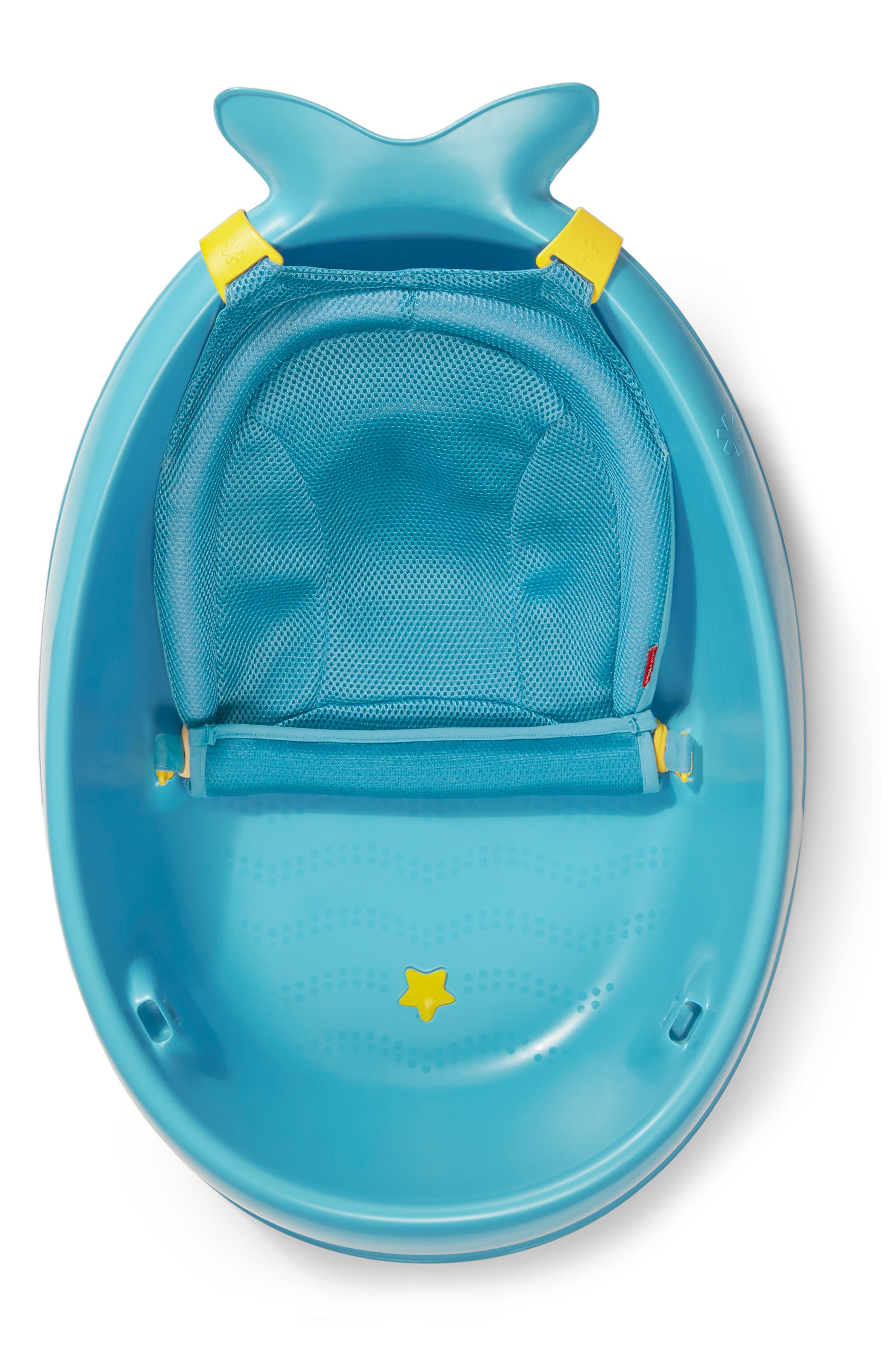 'Moby Smart Sling' Three-Stage Tub,                             Alternate thumbnail 6, color,                             BLUE