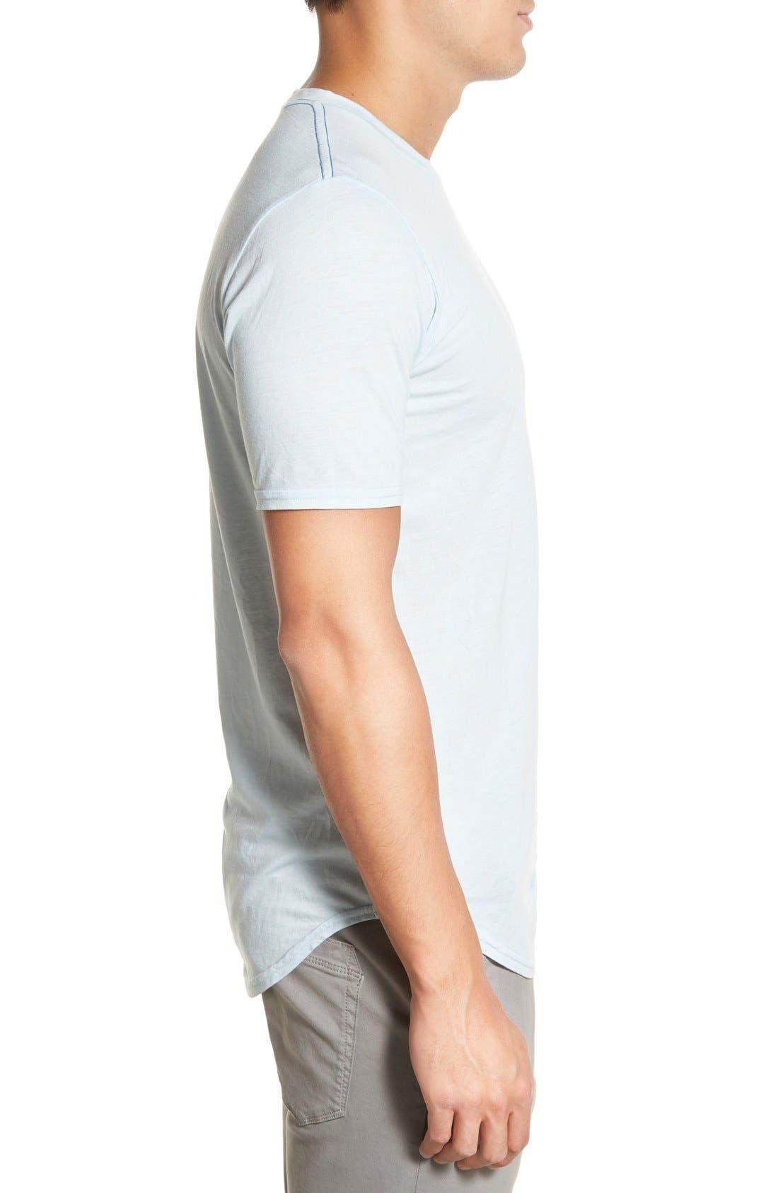 Scallop Triblend Crewneck T-Shirt,                             Alternate thumbnail 89, color,