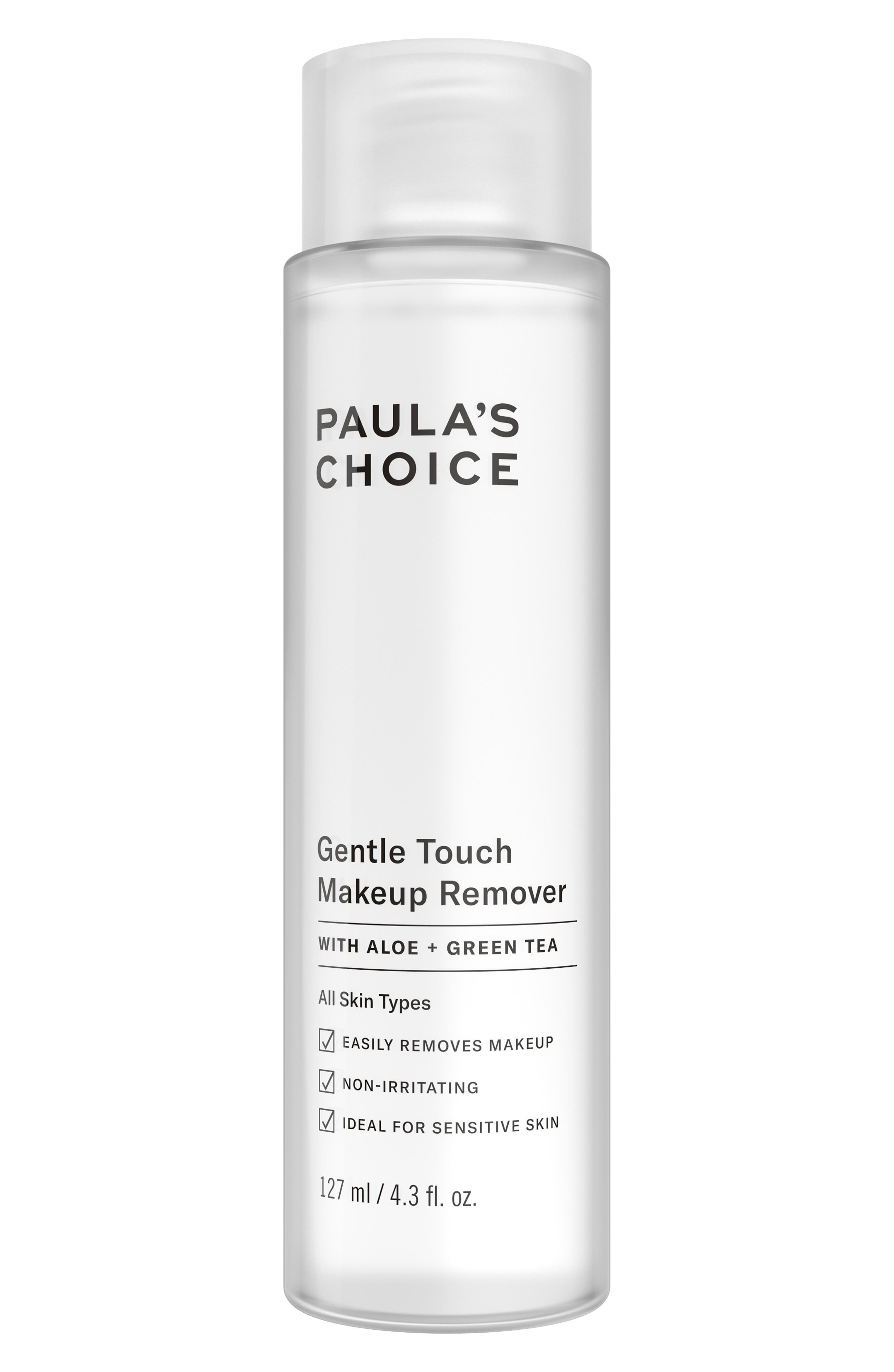 Gentle Touch Makeup Remover,                             Main thumbnail 1, color,                             000