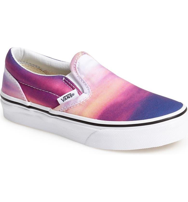 48c943117fc0b3 Vans  Classic - Sunset  Slip-On Sneaker (Toddler