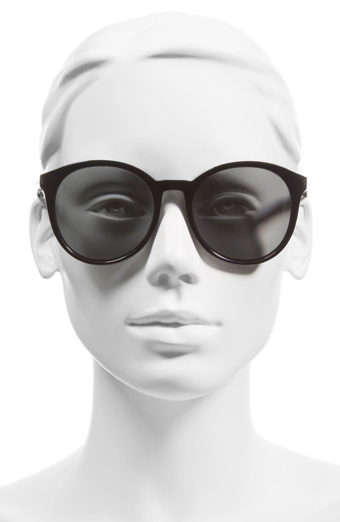 'Classic' 54mm Sunglasses,                             Alternate thumbnail 2, color,                             001