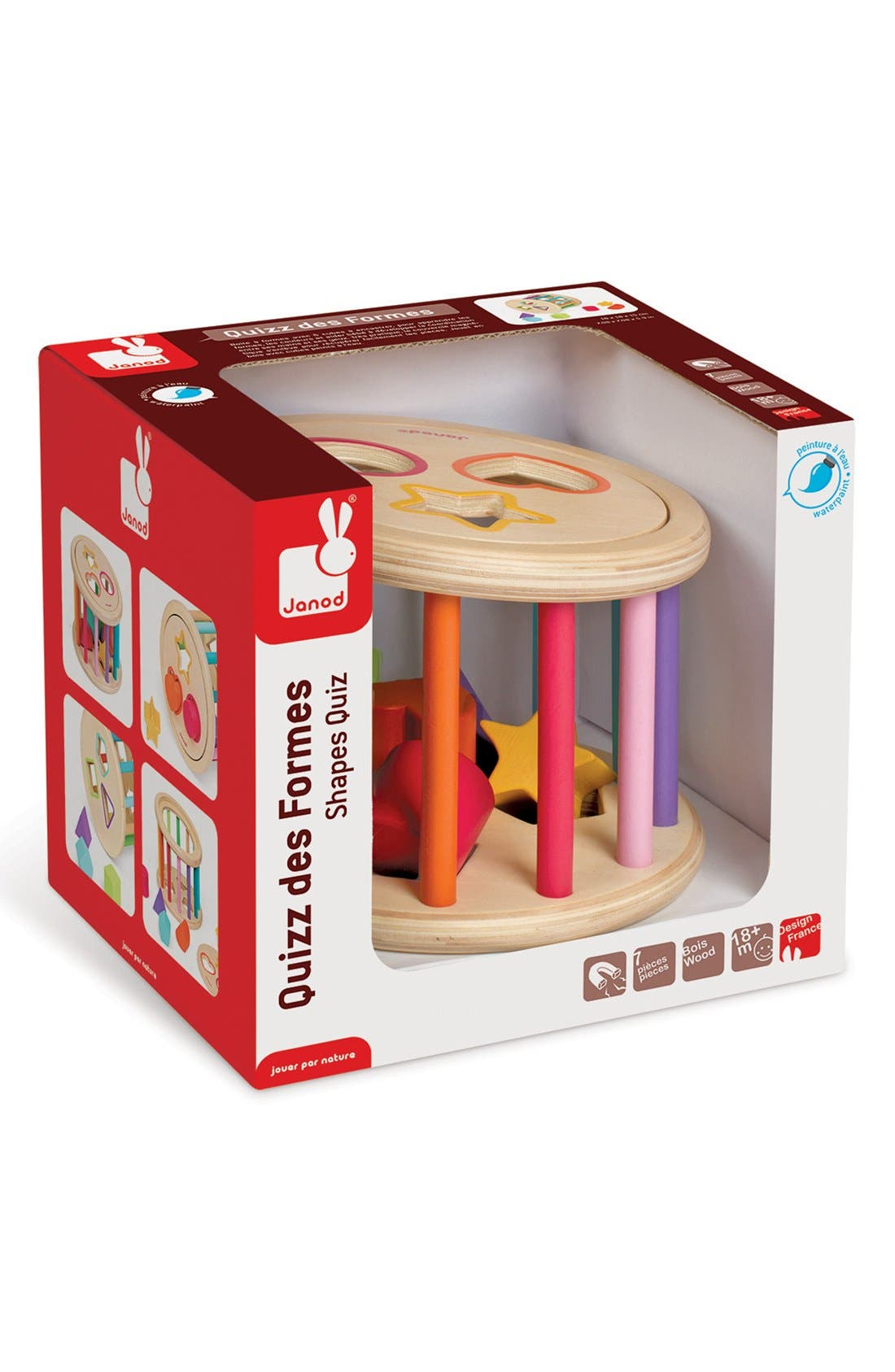 Wood Shape Sorter,                             Alternate thumbnail 5, color,                             650