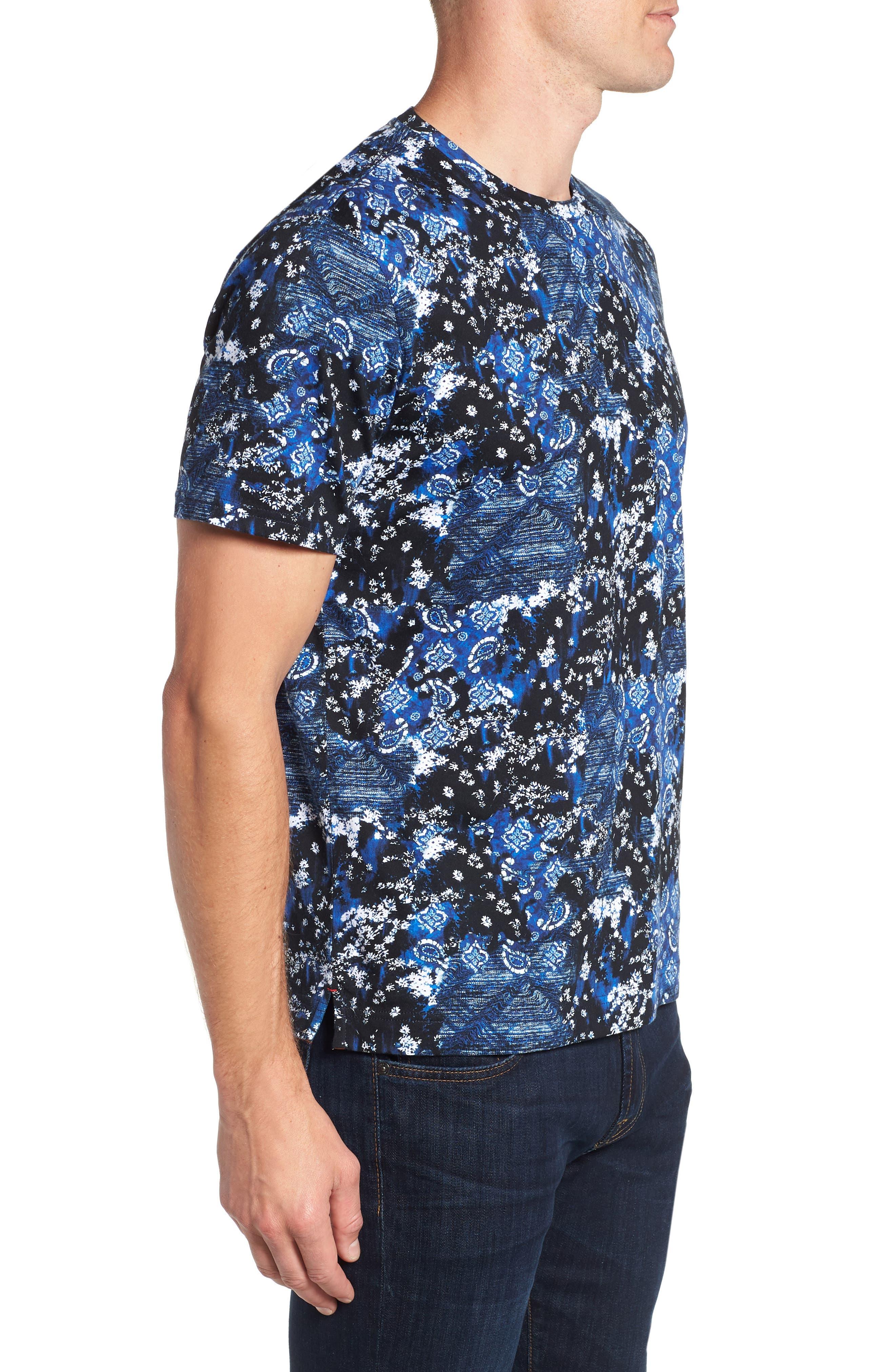 Carvel Rock T-Shirt,                             Alternate thumbnail 3, color,                             INDIGO