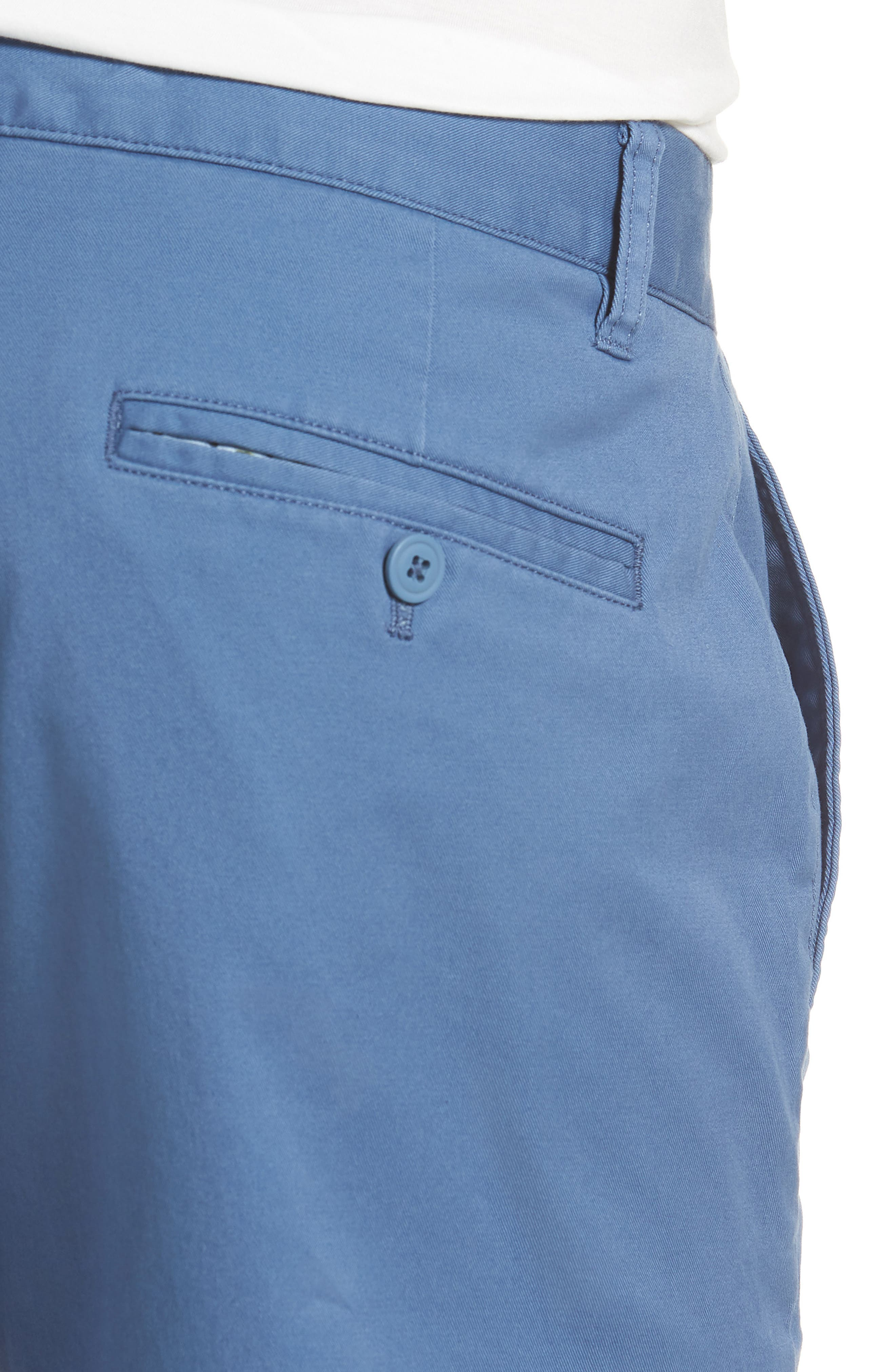 Tailored Fit Washed Stretch Cotton Chinos,                             Alternate thumbnail 121, color,