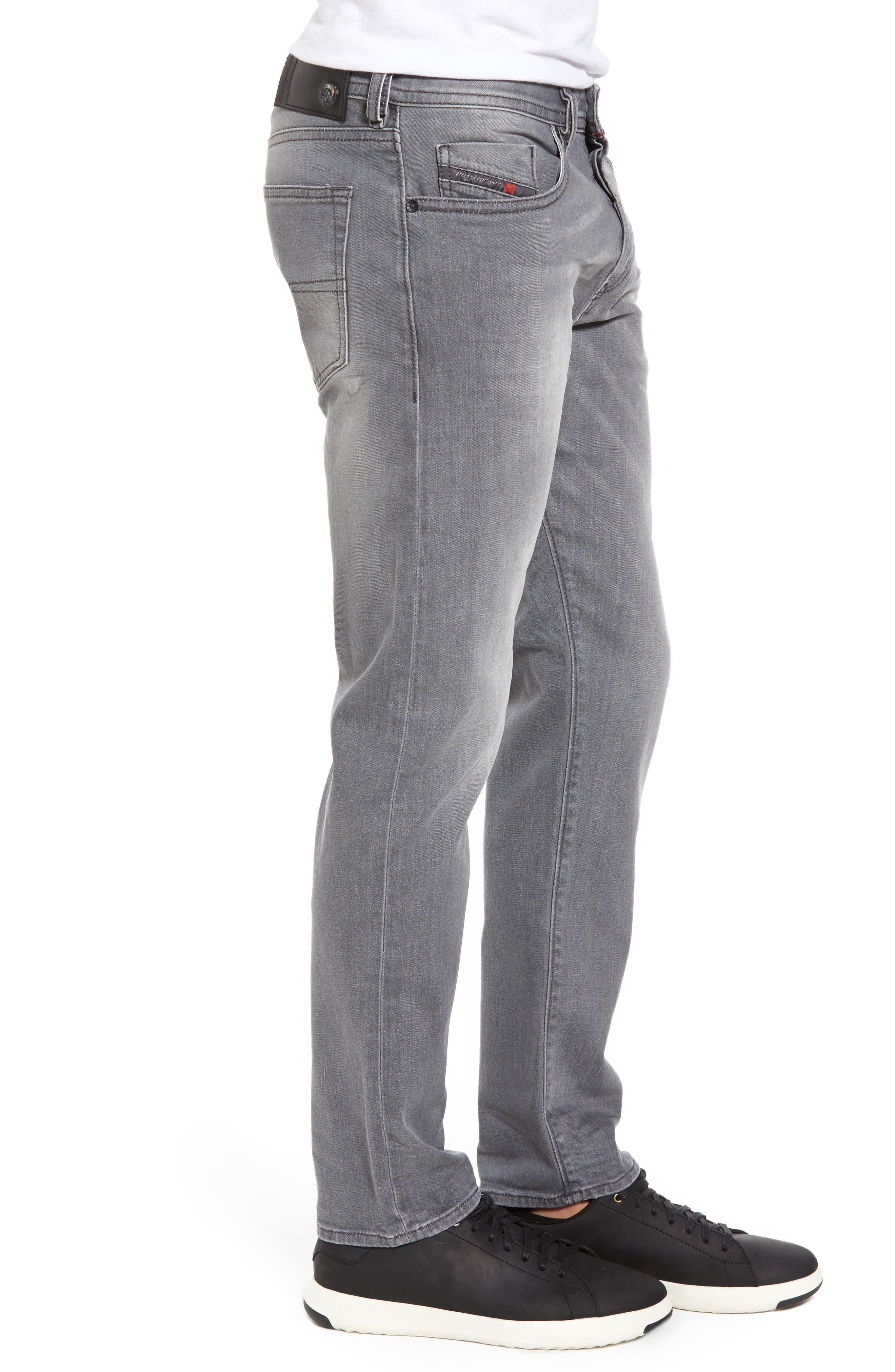 Buster Slim Straight Leg Jeans,                             Alternate thumbnail 3, color,                             020
