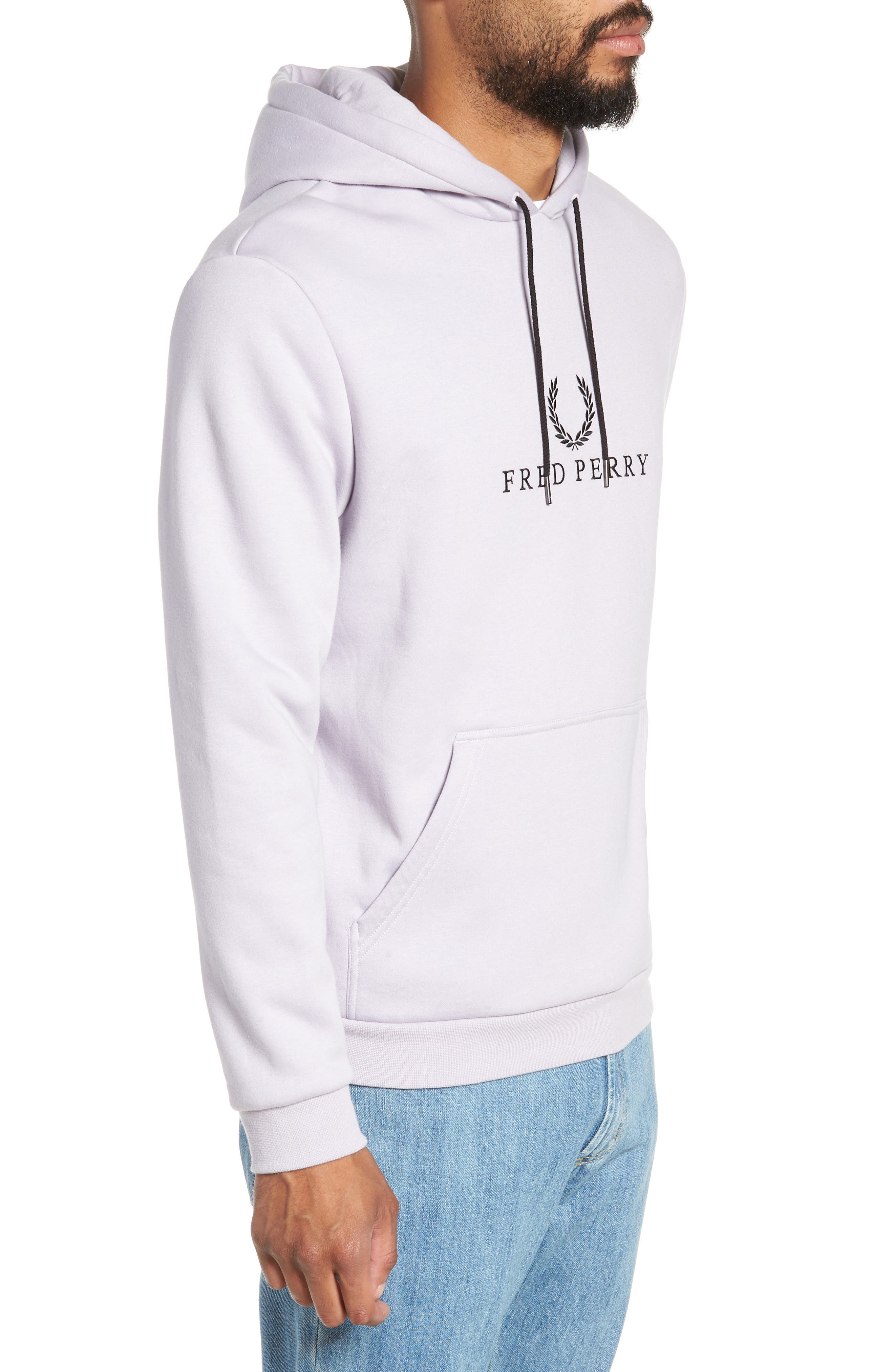 Embroidered Hoodie,                             Alternate thumbnail 3, color,                             500
