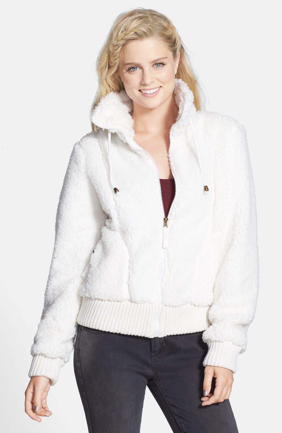 'Whubby' Fleecy Jacket, Main, color, 900