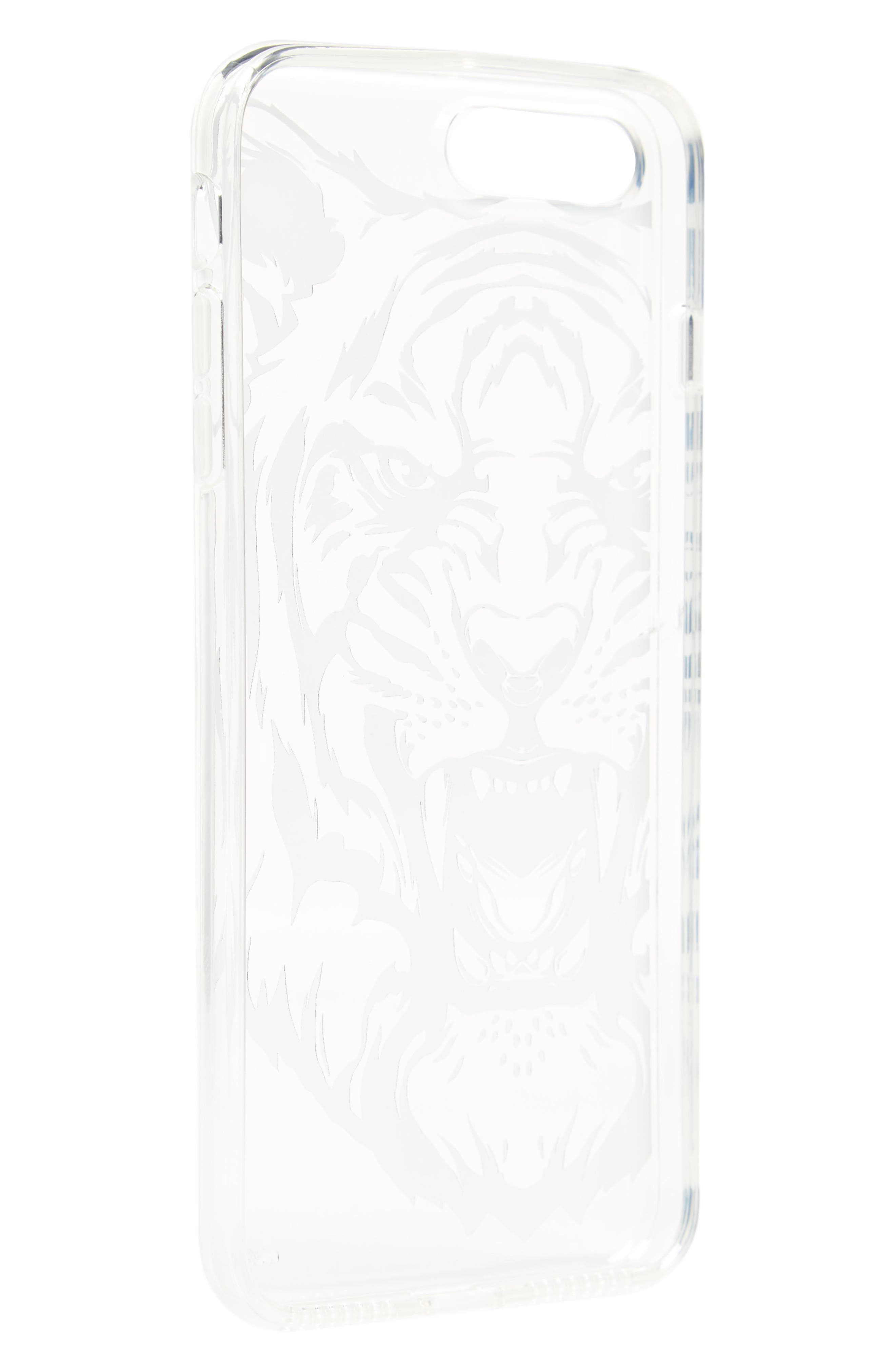 Tiger iPhone 7/7s Case,                             Alternate thumbnail 2, color,                             001