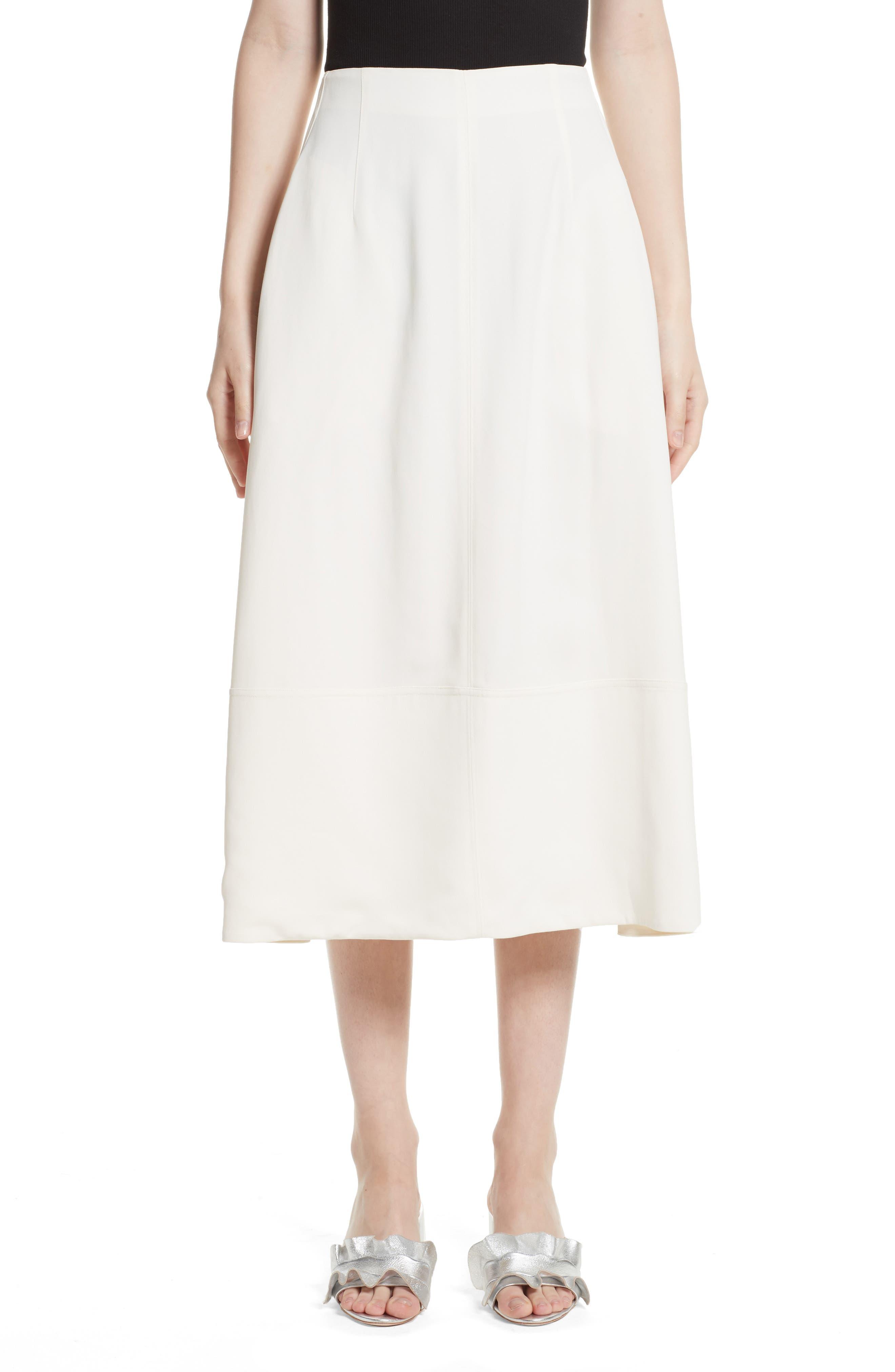 Lottie A-Line Midi Skirt, Main, color, 903