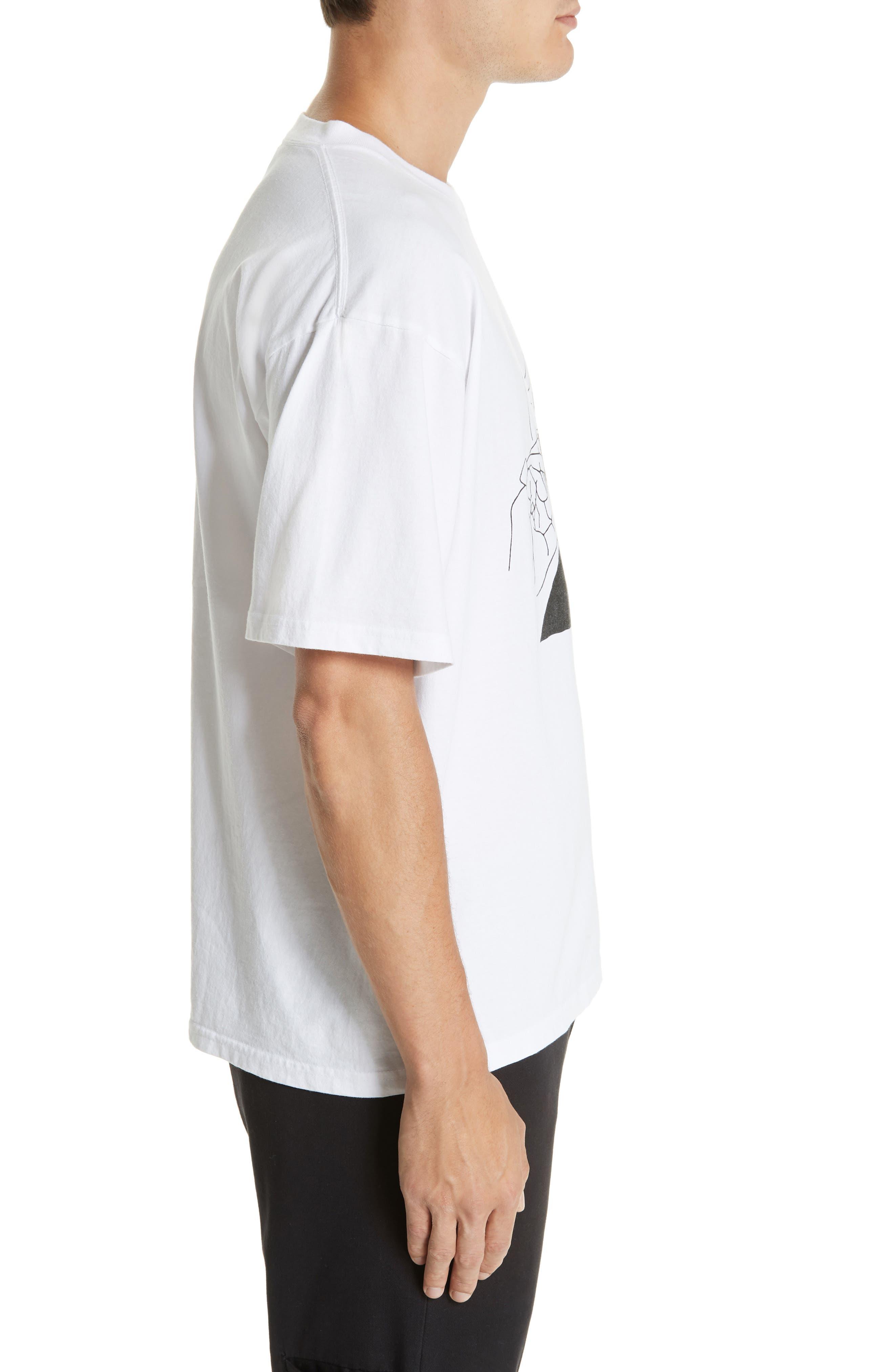 Slater Graphic T-Shirt,                             Alternate thumbnail 3, color,                             WHITE
