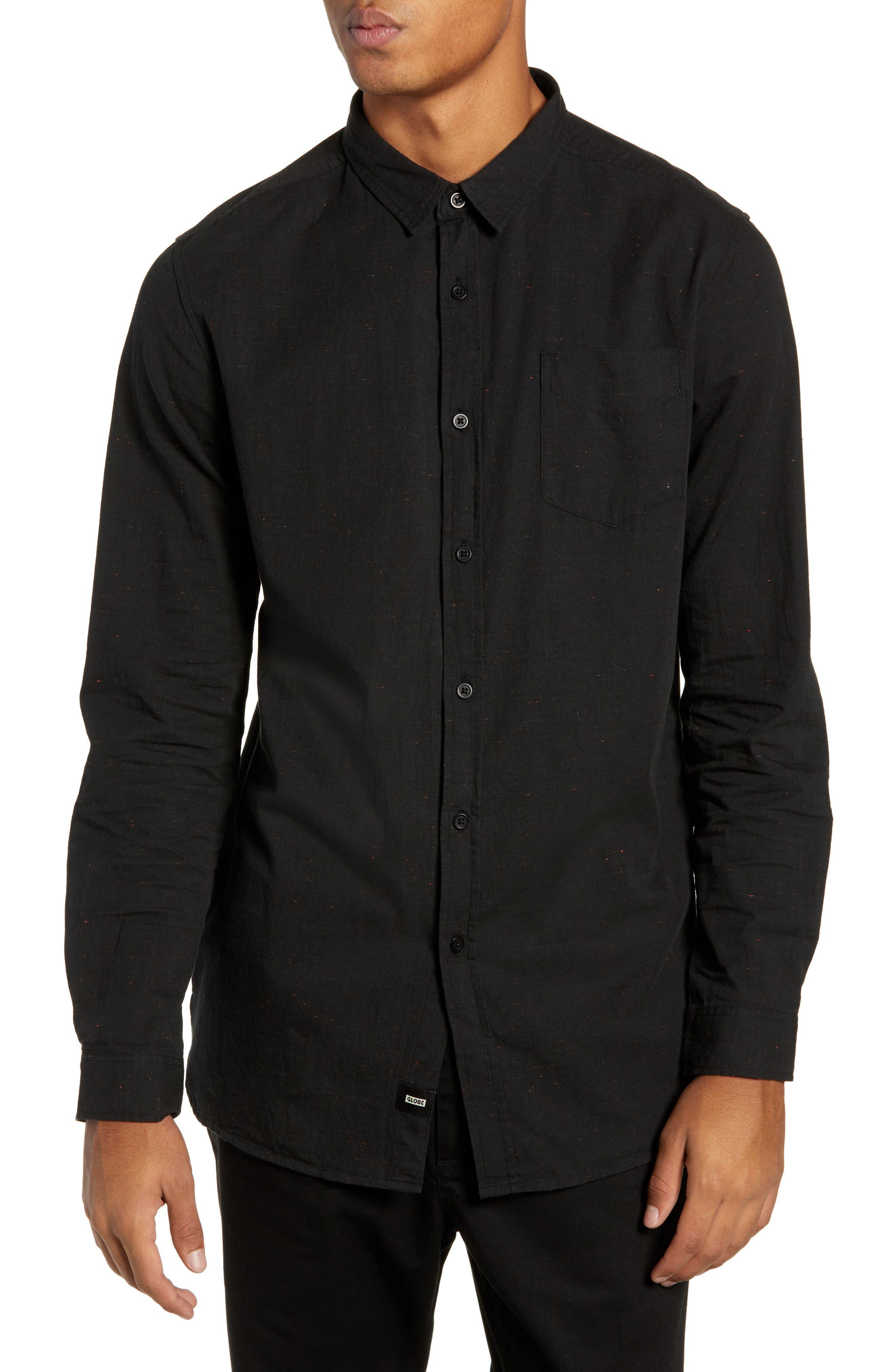 Goodstock Long Sleeve Shirt,                             Main thumbnail 1, color,                             LEAD