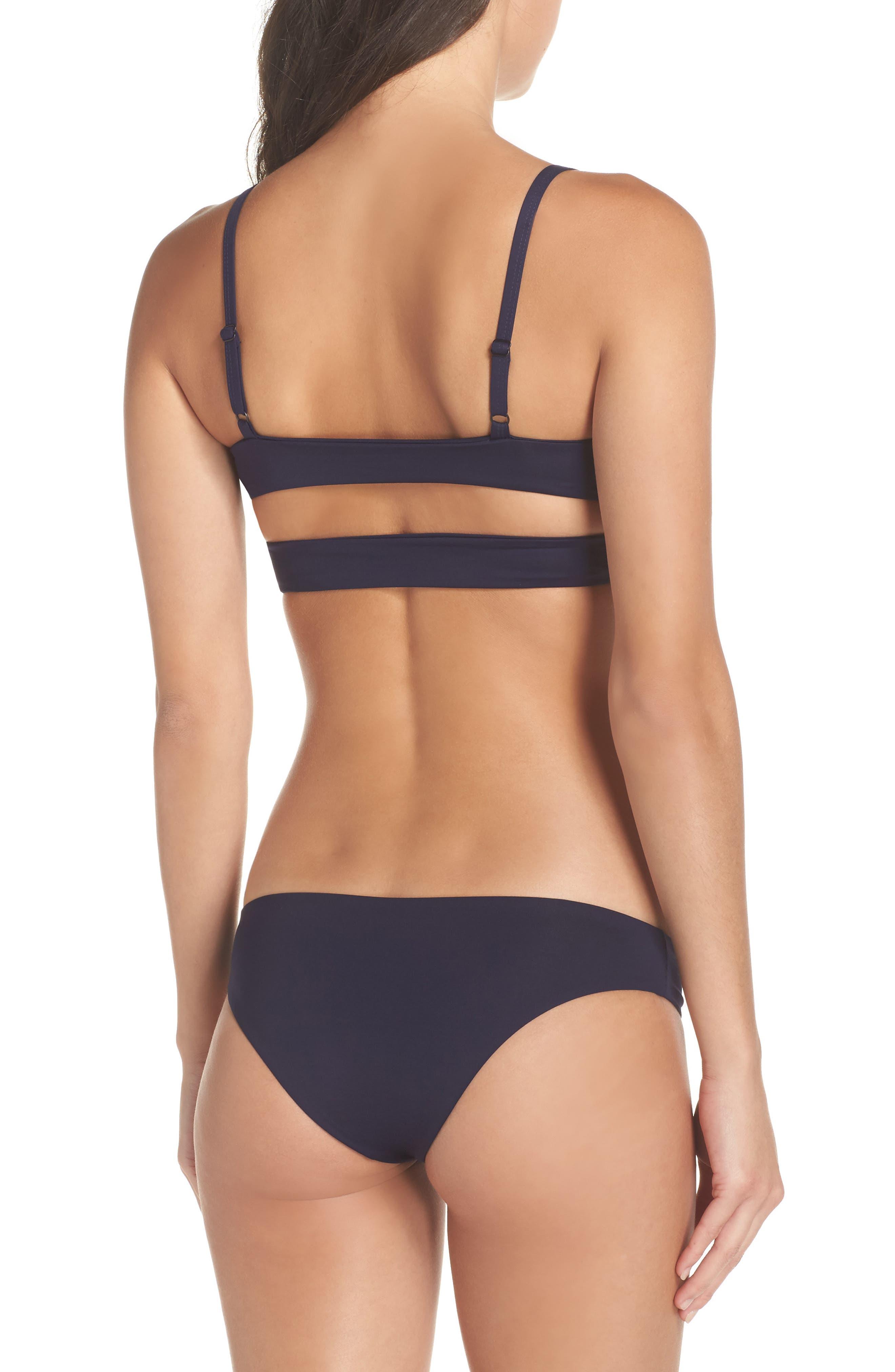 'Jessi' Cutout Triangle Bikini Top,                             Alternate thumbnail 47, color,