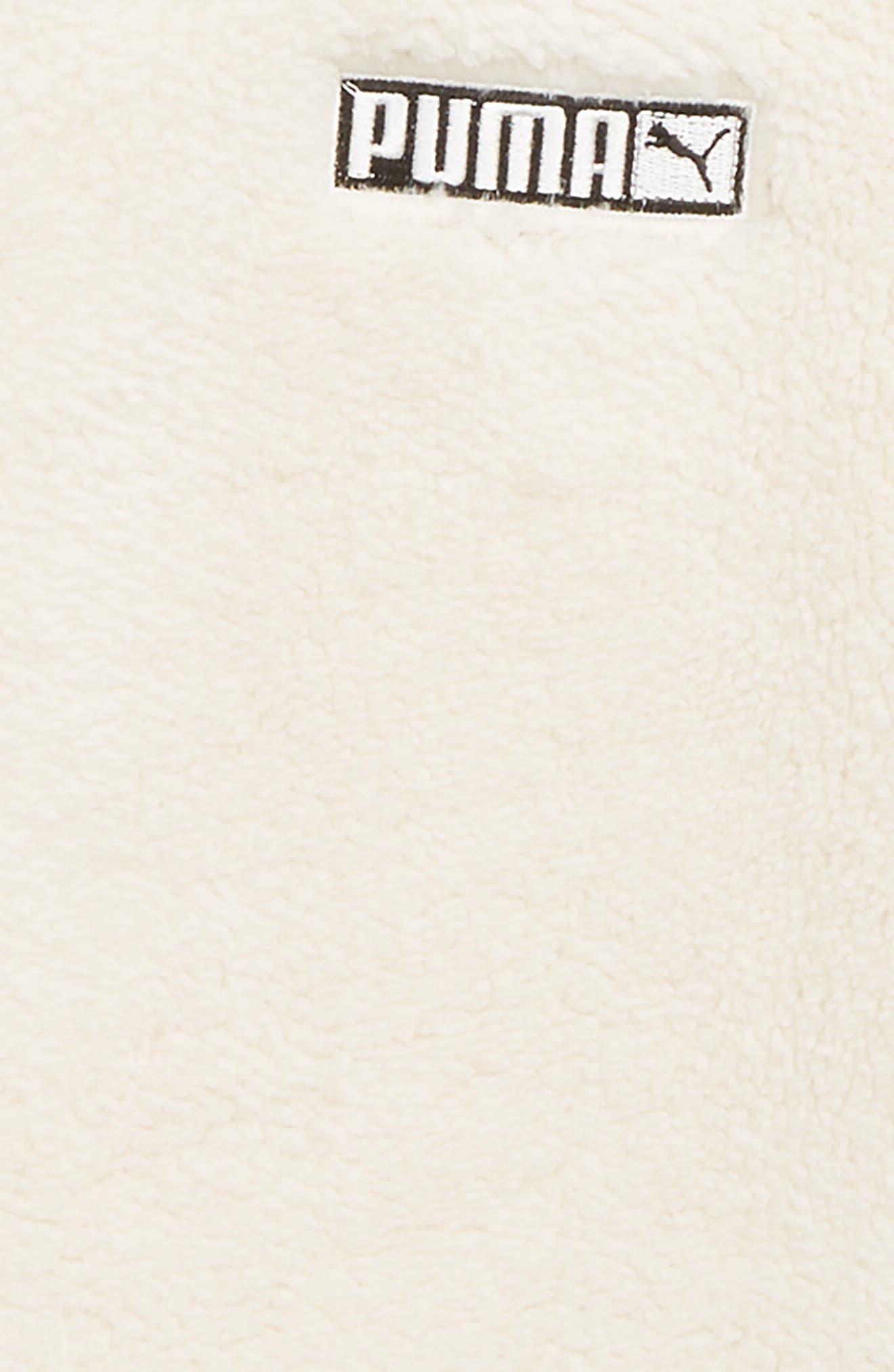 Fleece Hooded Pullover,                             Alternate thumbnail 2, color,                             WHISPER WHITE