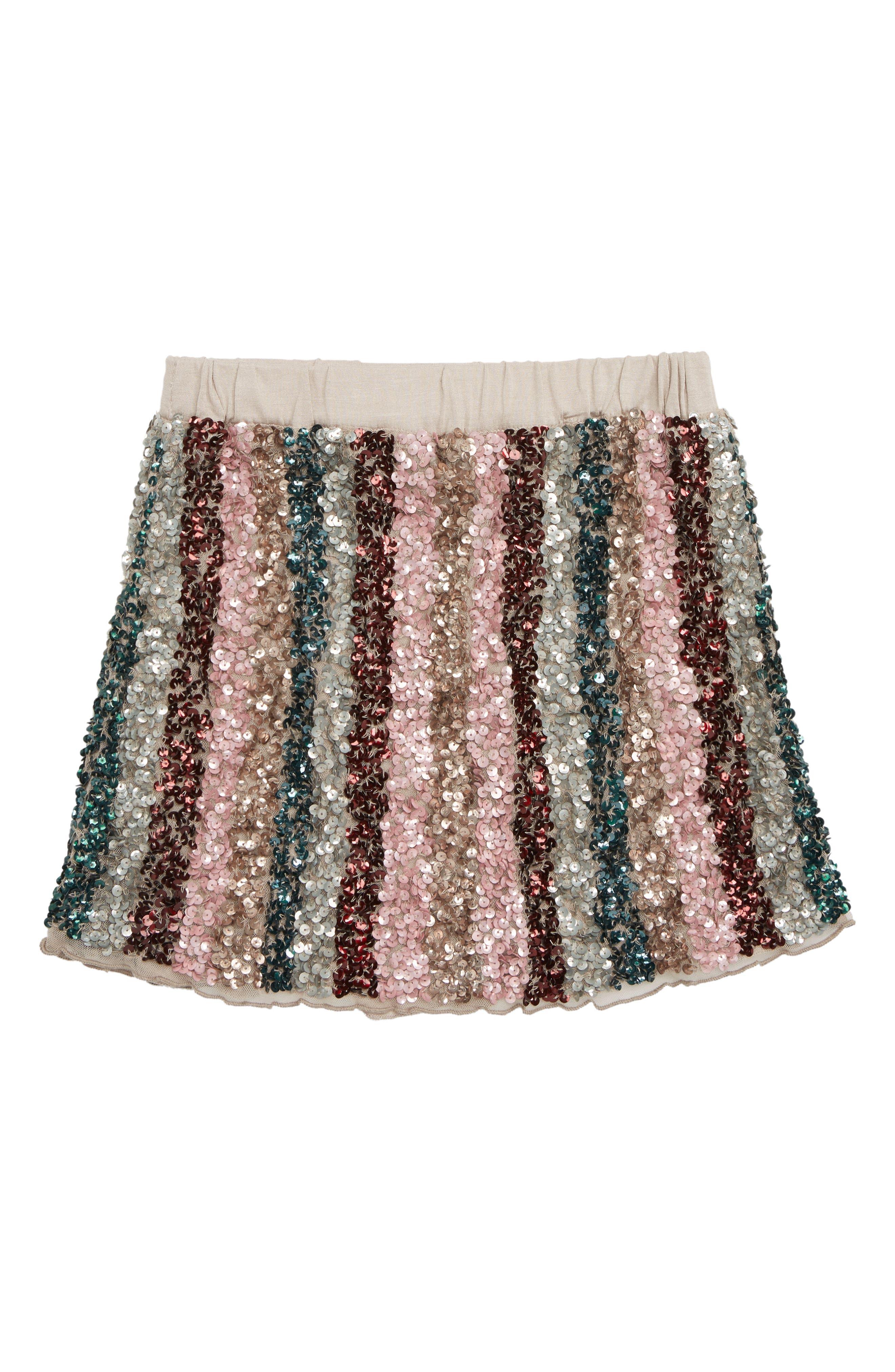 Girls Peek Ella Sequin Skirt