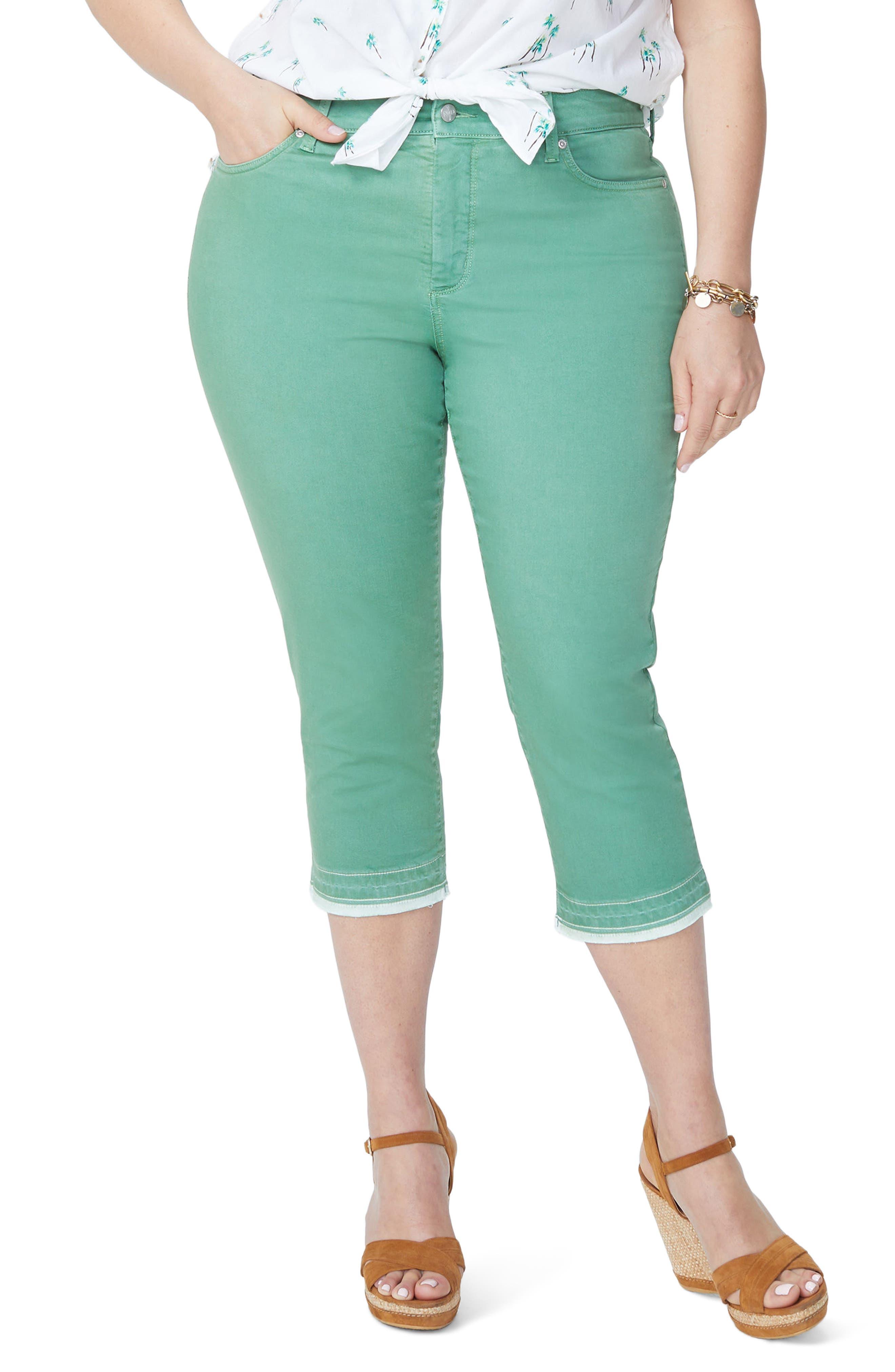 Release Hem Skinny Jeans,                         Main,                         color, CACTUS