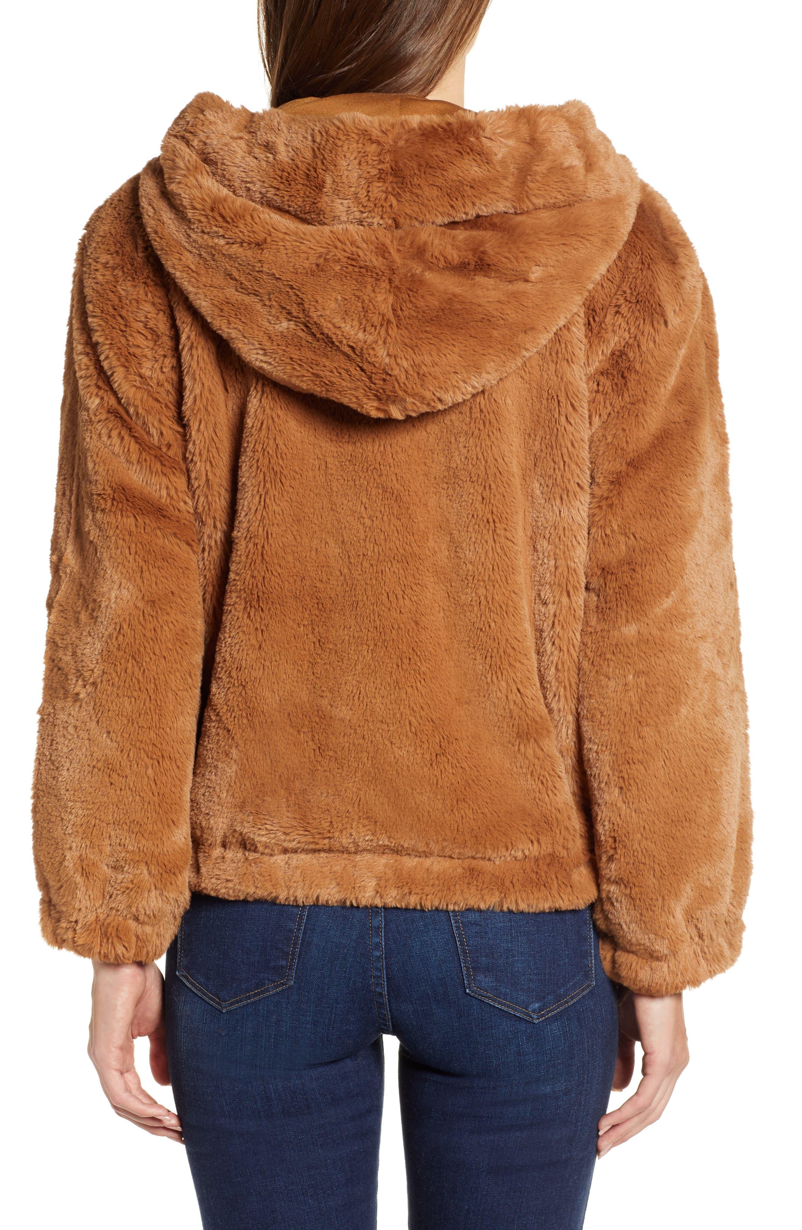 Arabella Faux Shearling Jacket,                             Alternate thumbnail 2, color,                             200