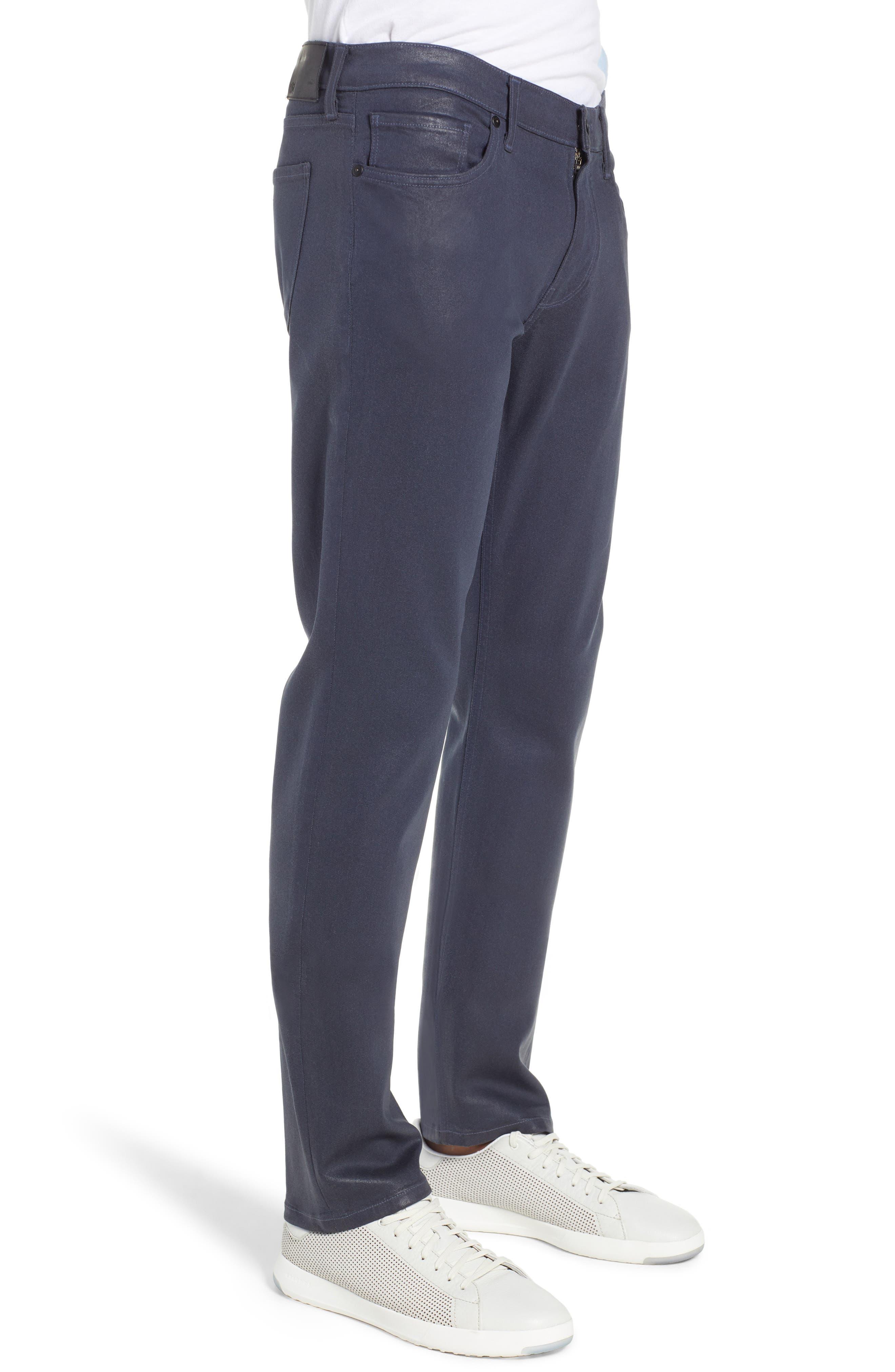 Transcend - Lennox Slim Fit Jeans,                             Alternate thumbnail 3, color,                             NIGHTFALL COATED
