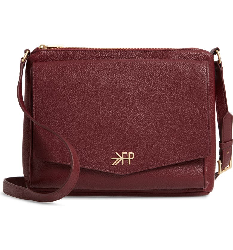 Freshly Picked Classic Faux Leather Crossbody Diaper Bag  be7fefe2bfb6f