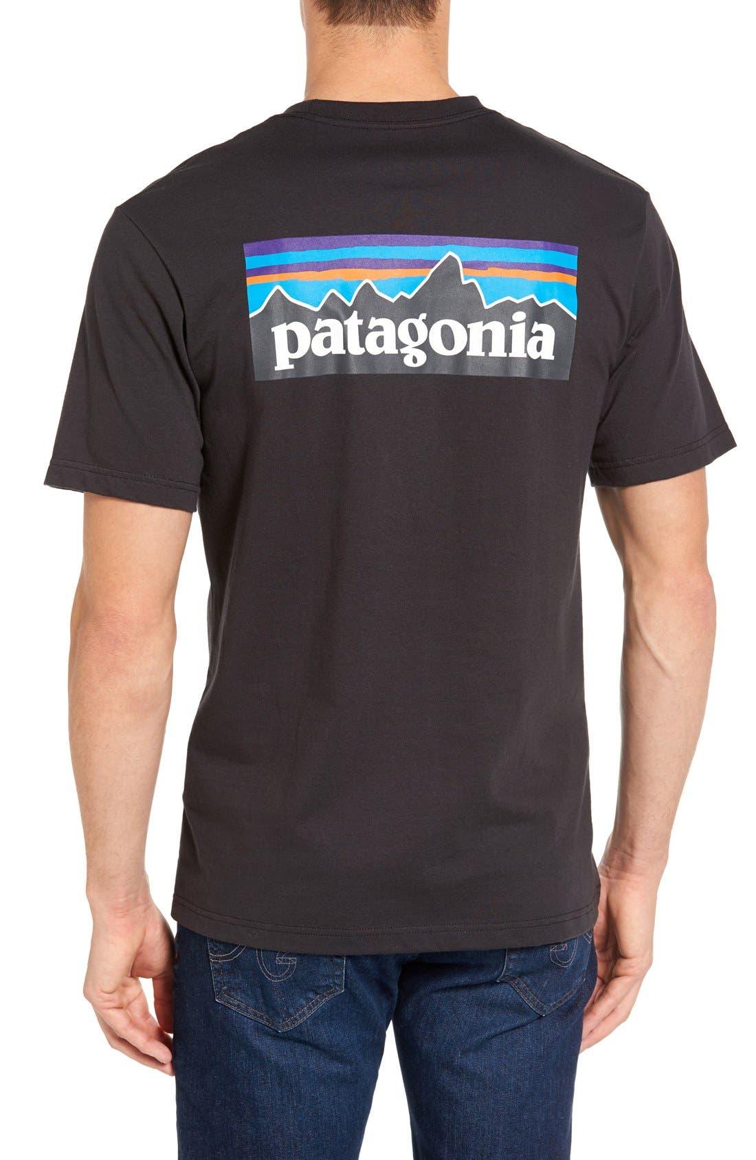 P-6 Logo Graphic T-Shirt,                             Alternate thumbnail 2, color,                             001